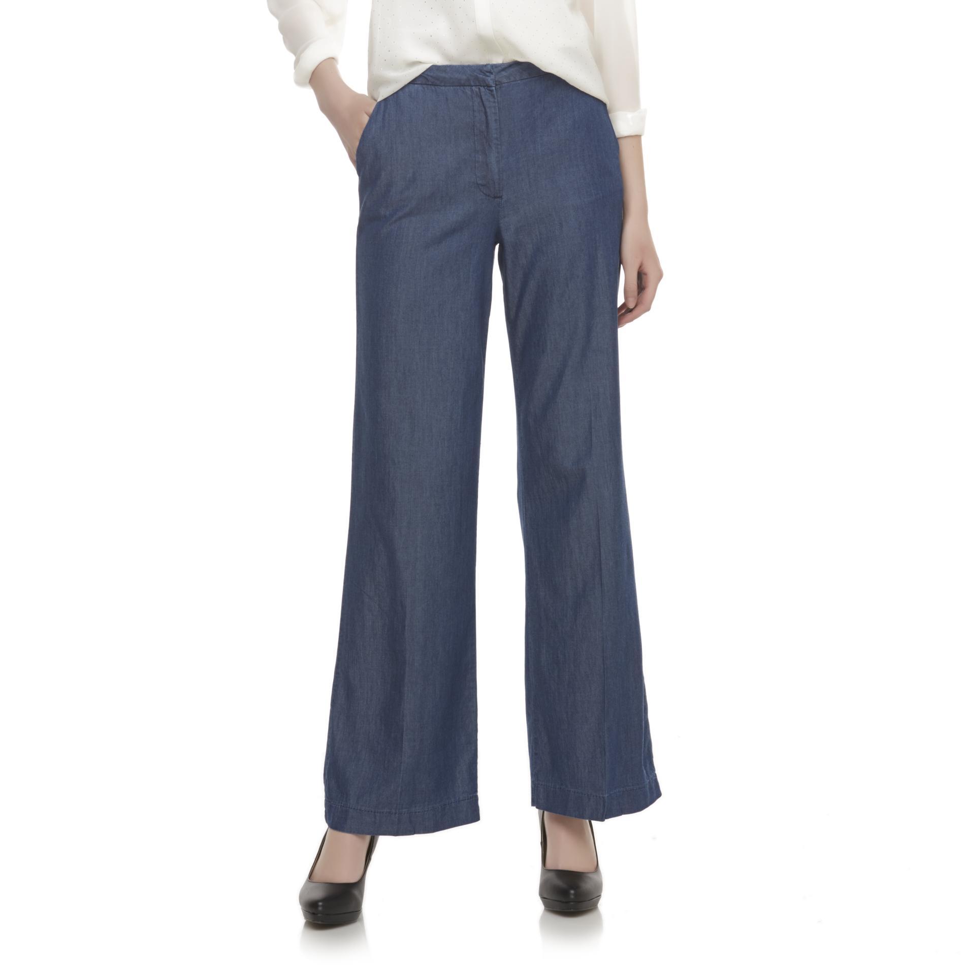 Metaphor Women's Chambray Dress Pants