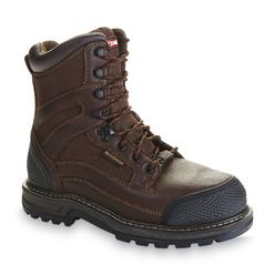 Craftsman Men's Kryptor Brown Steel Toe Mid-Calf Work Boot at Kmart.com