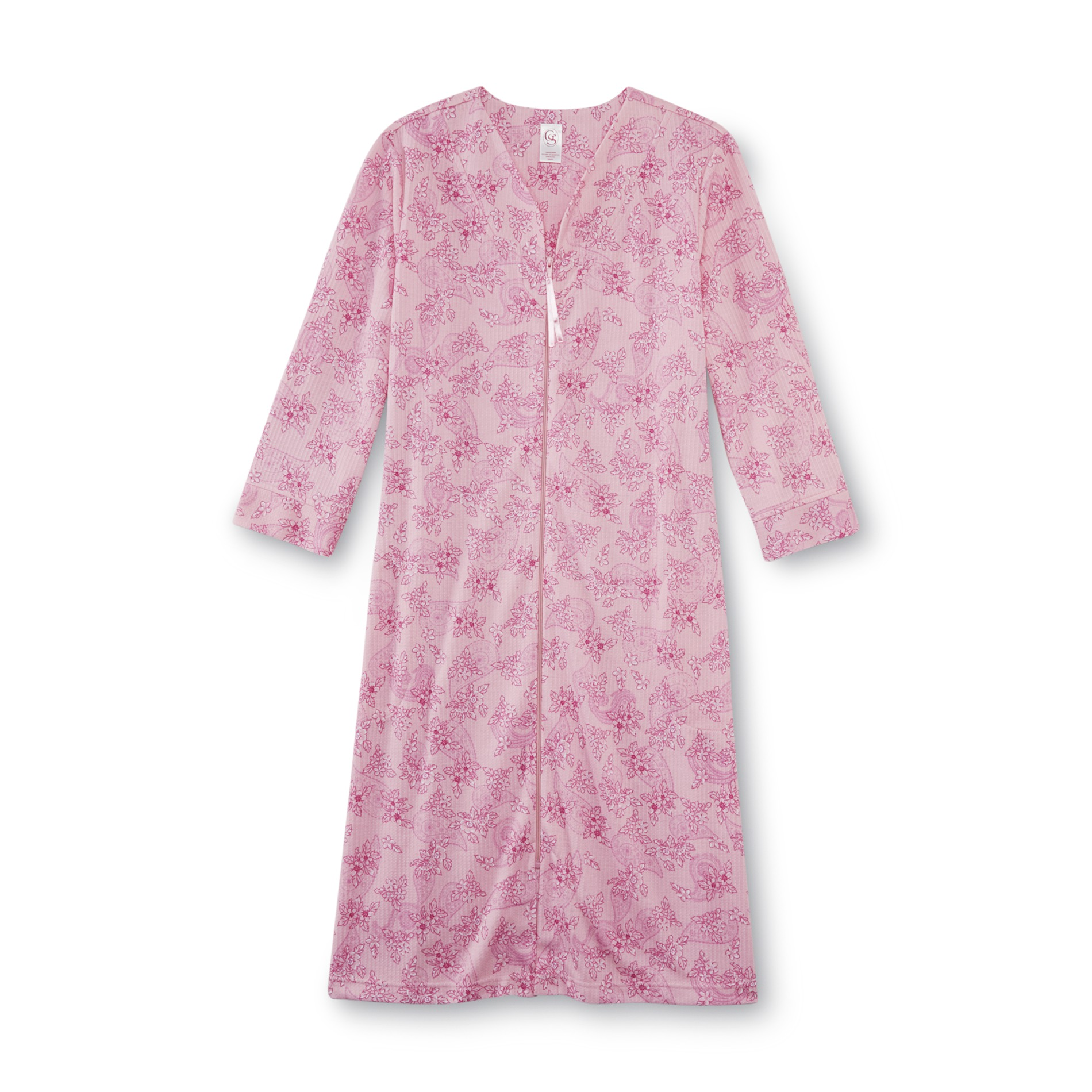 Granada Women's Knit Duster Robe - Floral & Paisley