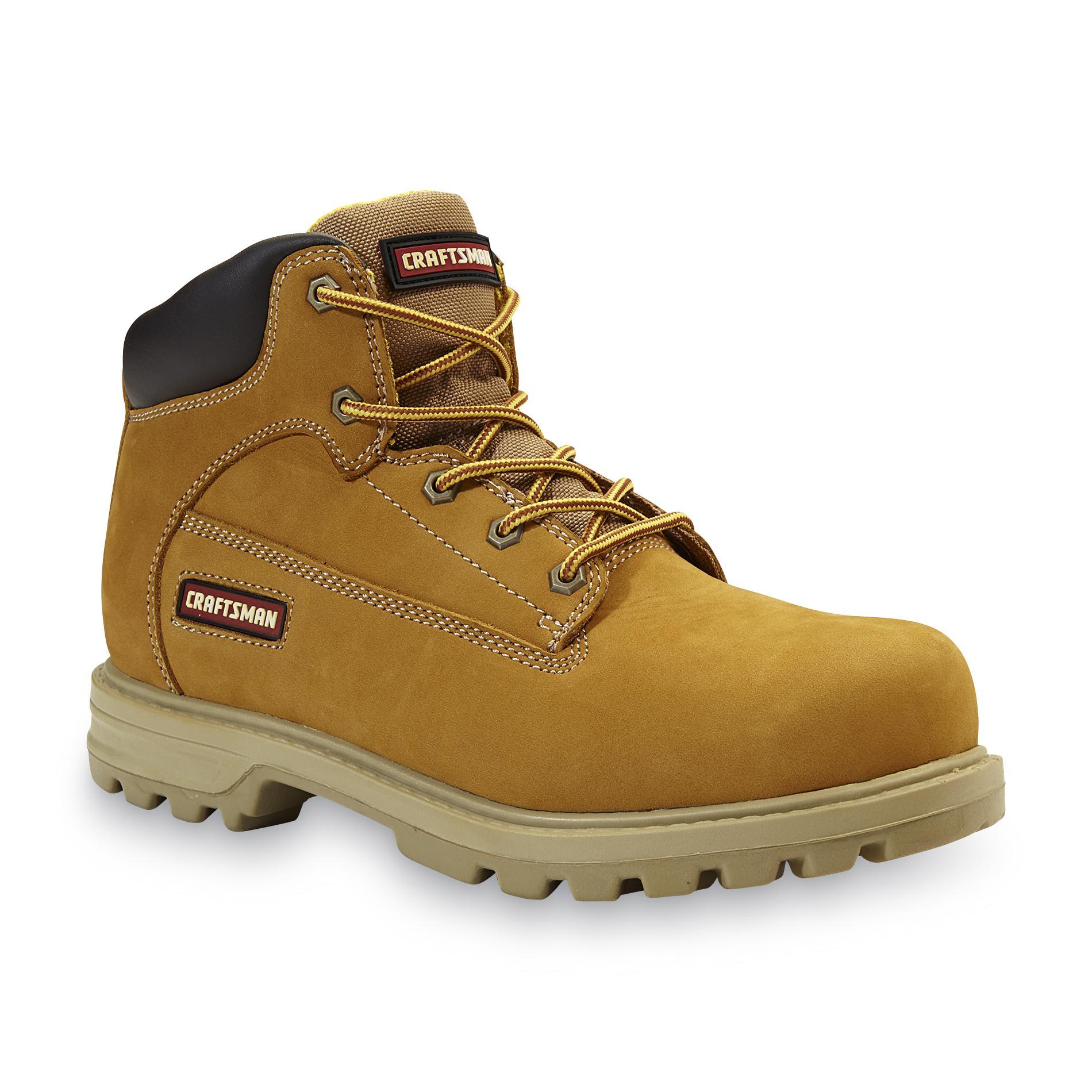 Craftsman Men's Kujo Tan Leather Work Boot