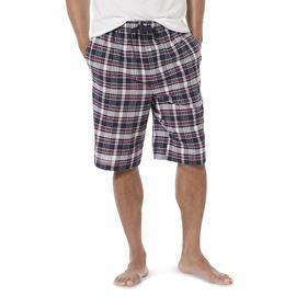Basic Editions Men's Big & Tall Poplin Pajama Shorts - Plaid at Kmart.com