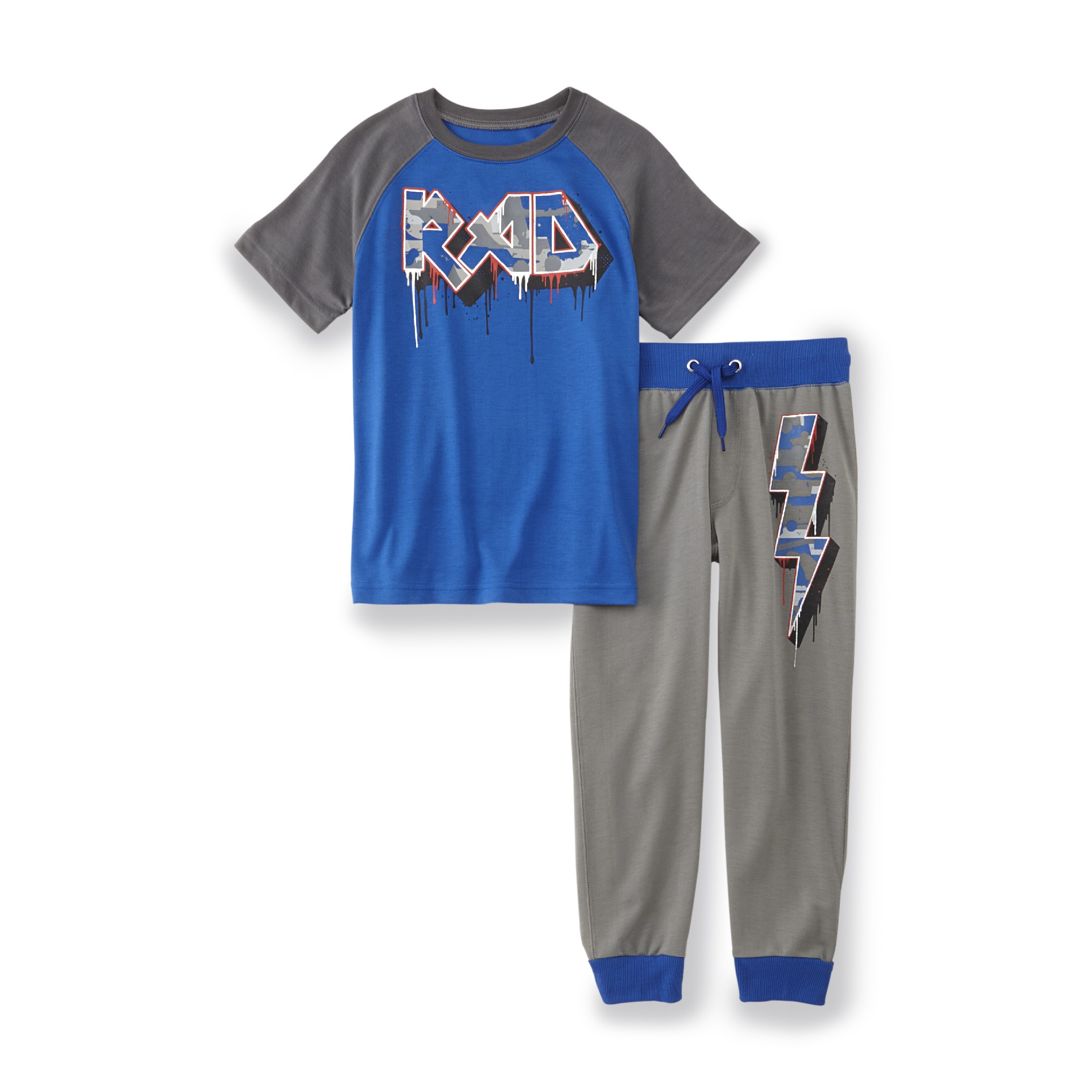 Joe Boxer Boy's Pajama T-Shirt & Pants - Rad