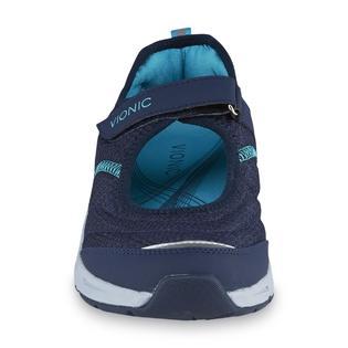 9395d8ed53e8 Vionic Vionic Women s Sunset Navy Teal Walking Shoe 2