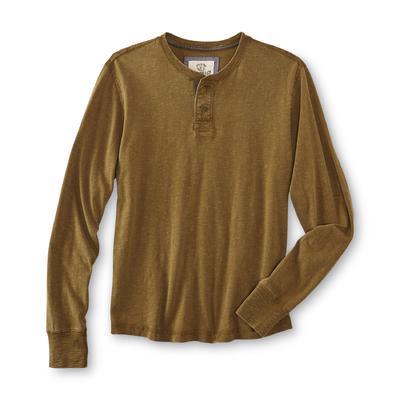 Roebuck & Co. Young Men's Henley Shirt