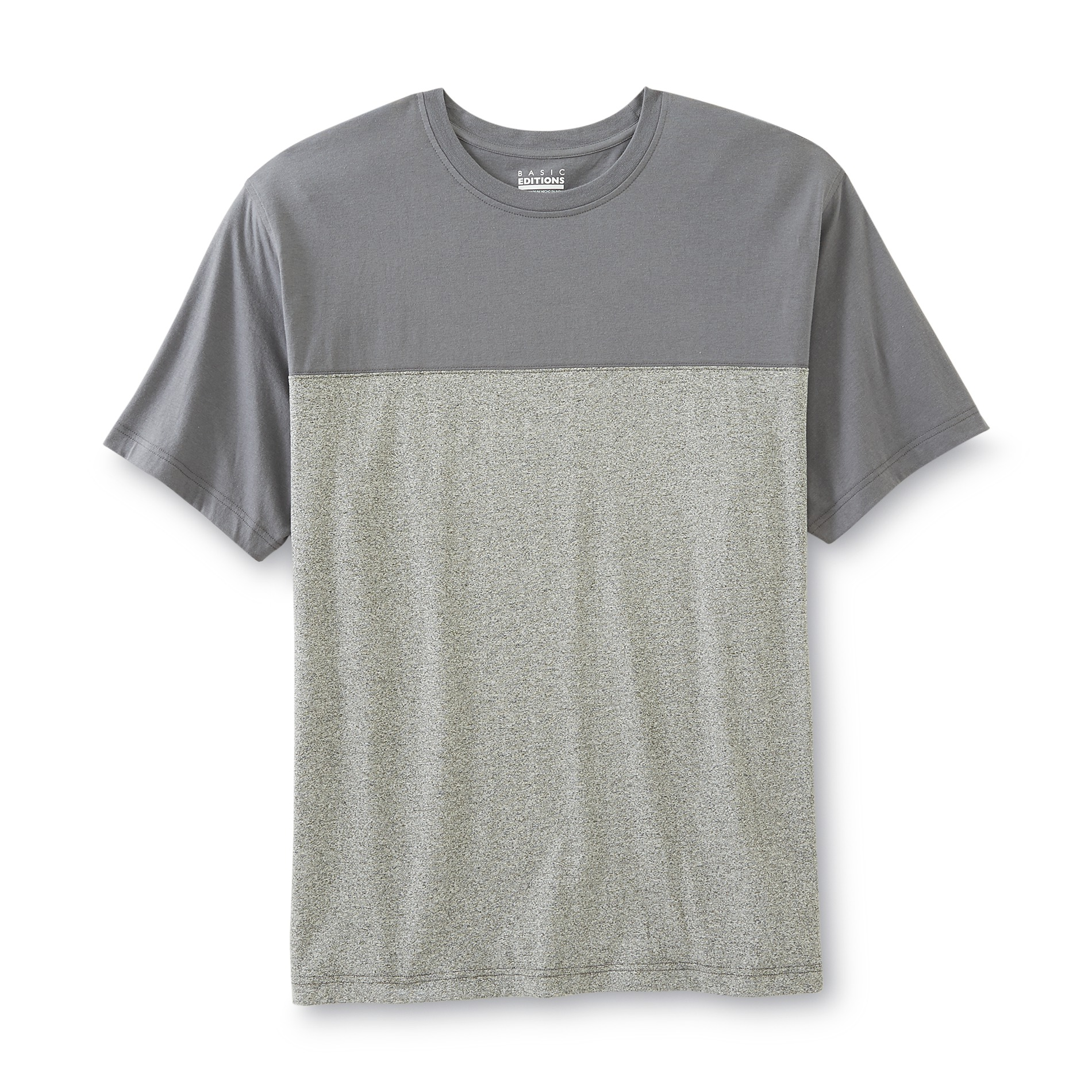 Men's Big & Tall Pieced T-Shirt