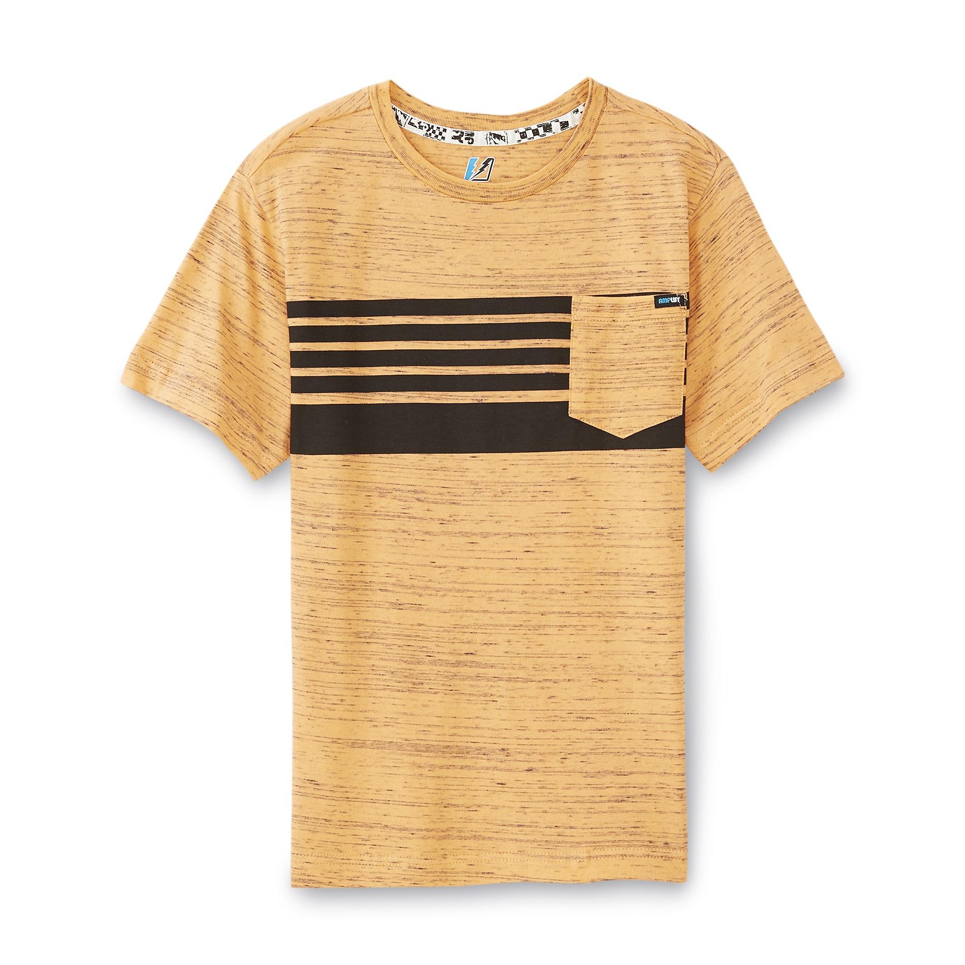 Boy's Pocket T-Shirt - Striped