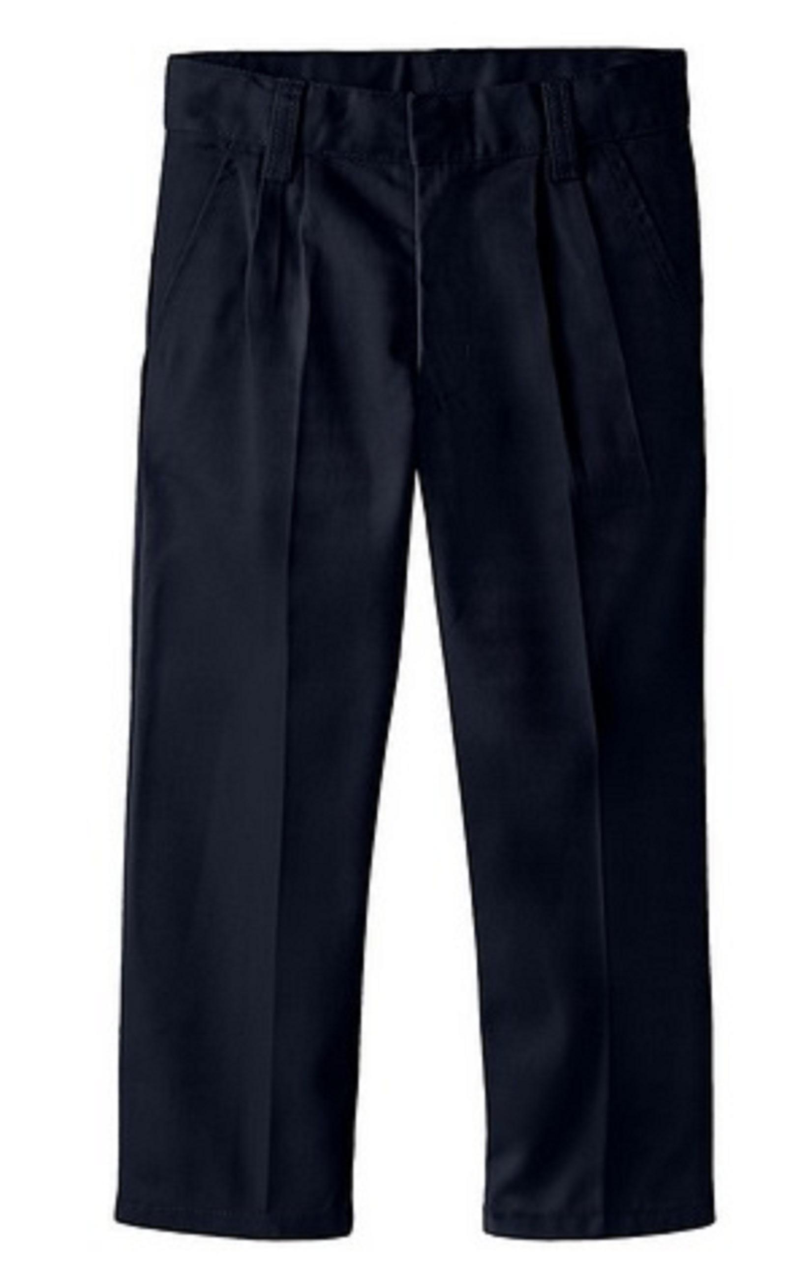 Boys 4-7 Pleated Twill Pants