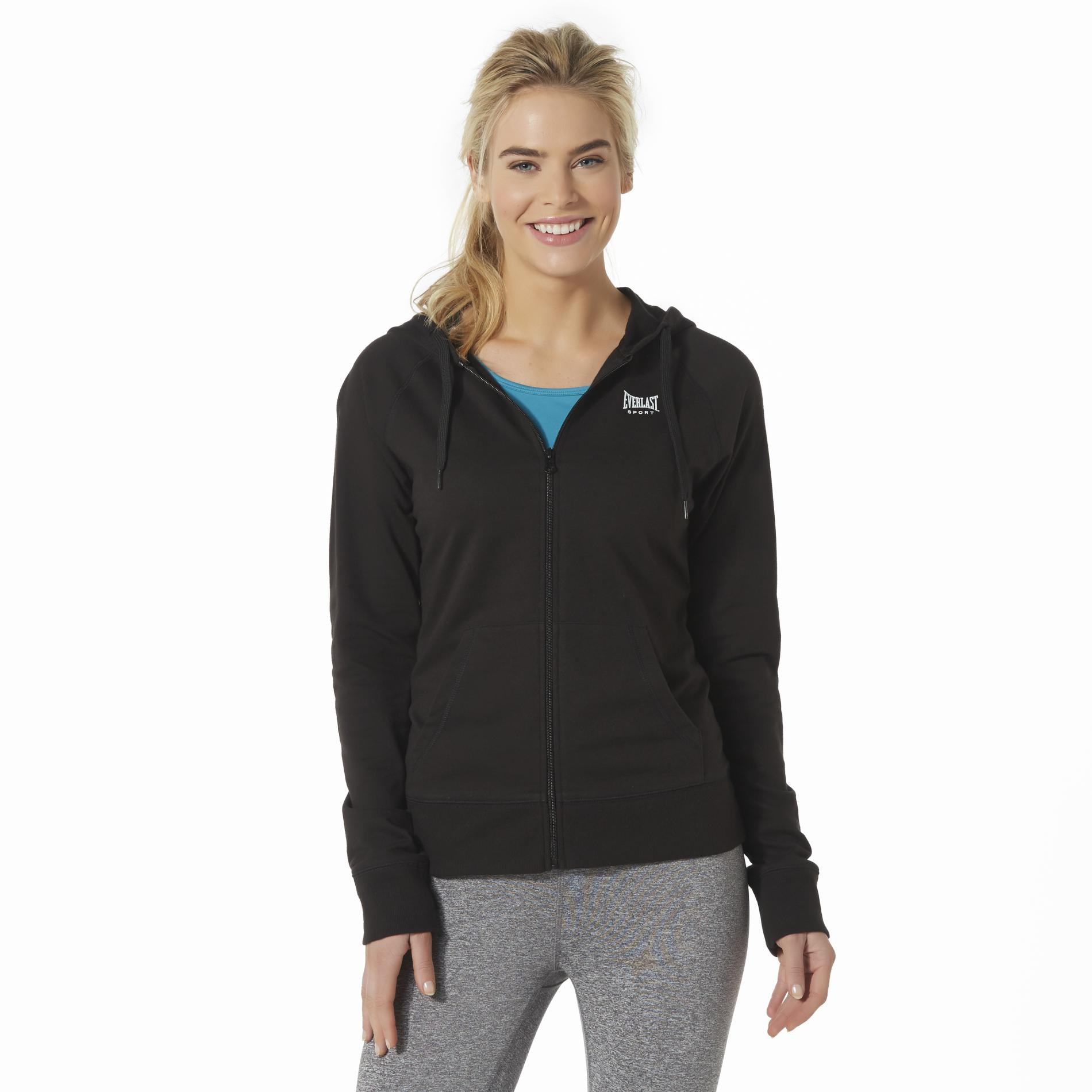 Everlast® Sport Women's Athletic Hoodie Jacket PartNumber: 027VA86747812P MfgPartNumber: WS6EV74160MI