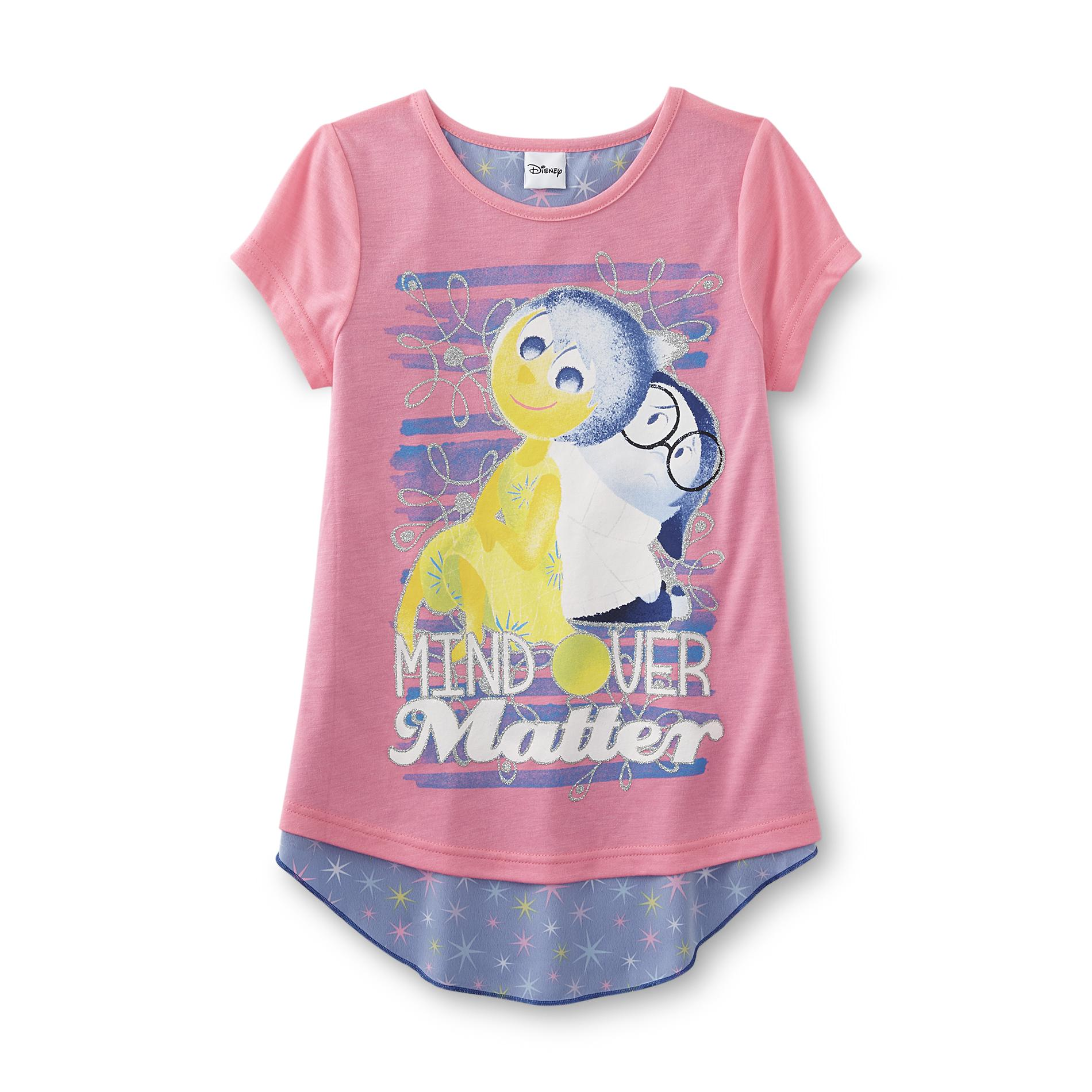 Disney Inside Out Girl's Split-Back Graphic T-Shirt PartNumber: 049VA86924212P MfgPartNumber: DI8222905
