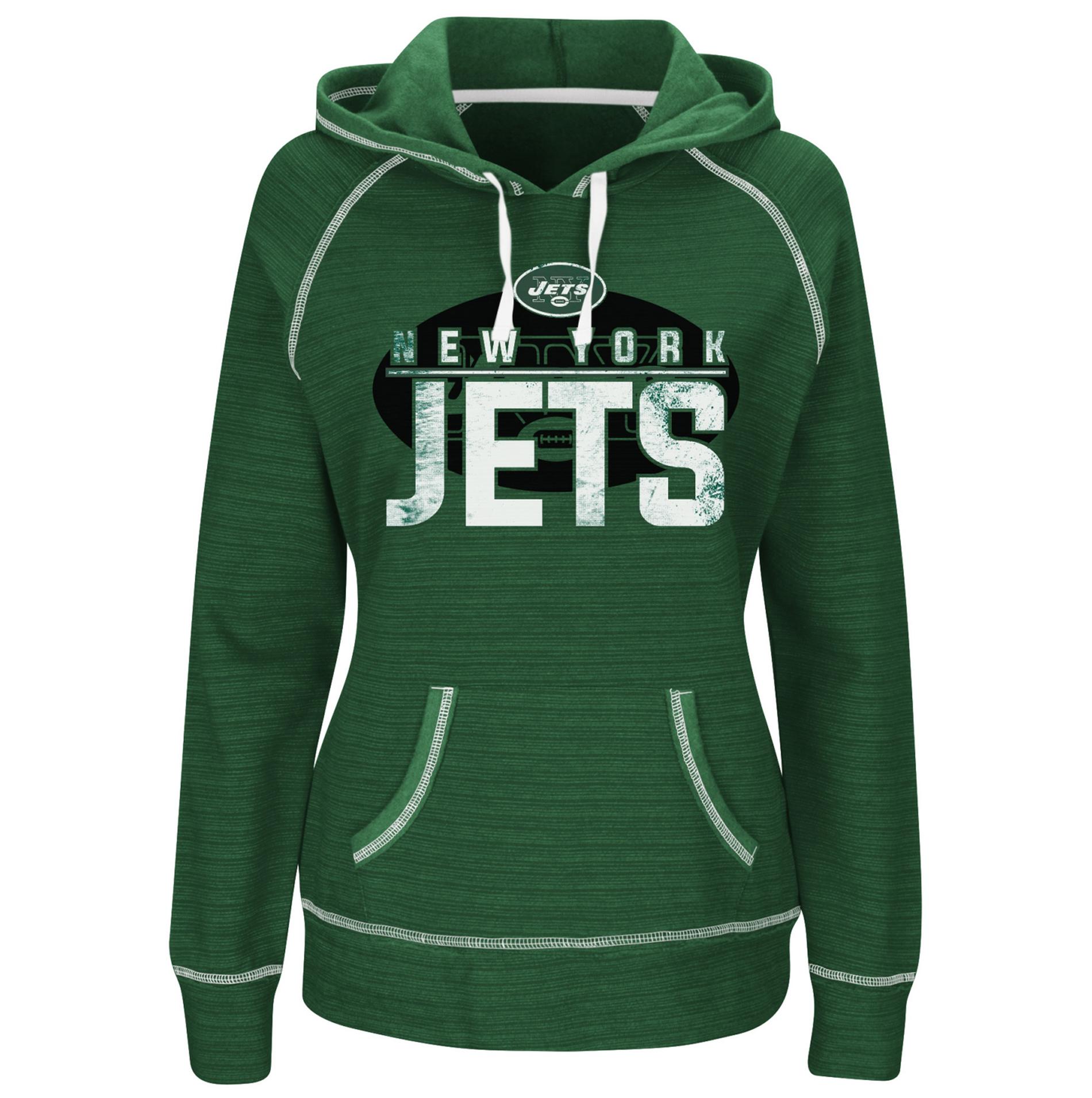 NFL Women's Team Hoodie - New York Jets PartNumber: 046VA99877612P MfgPartNumber: DKLF-7ZP