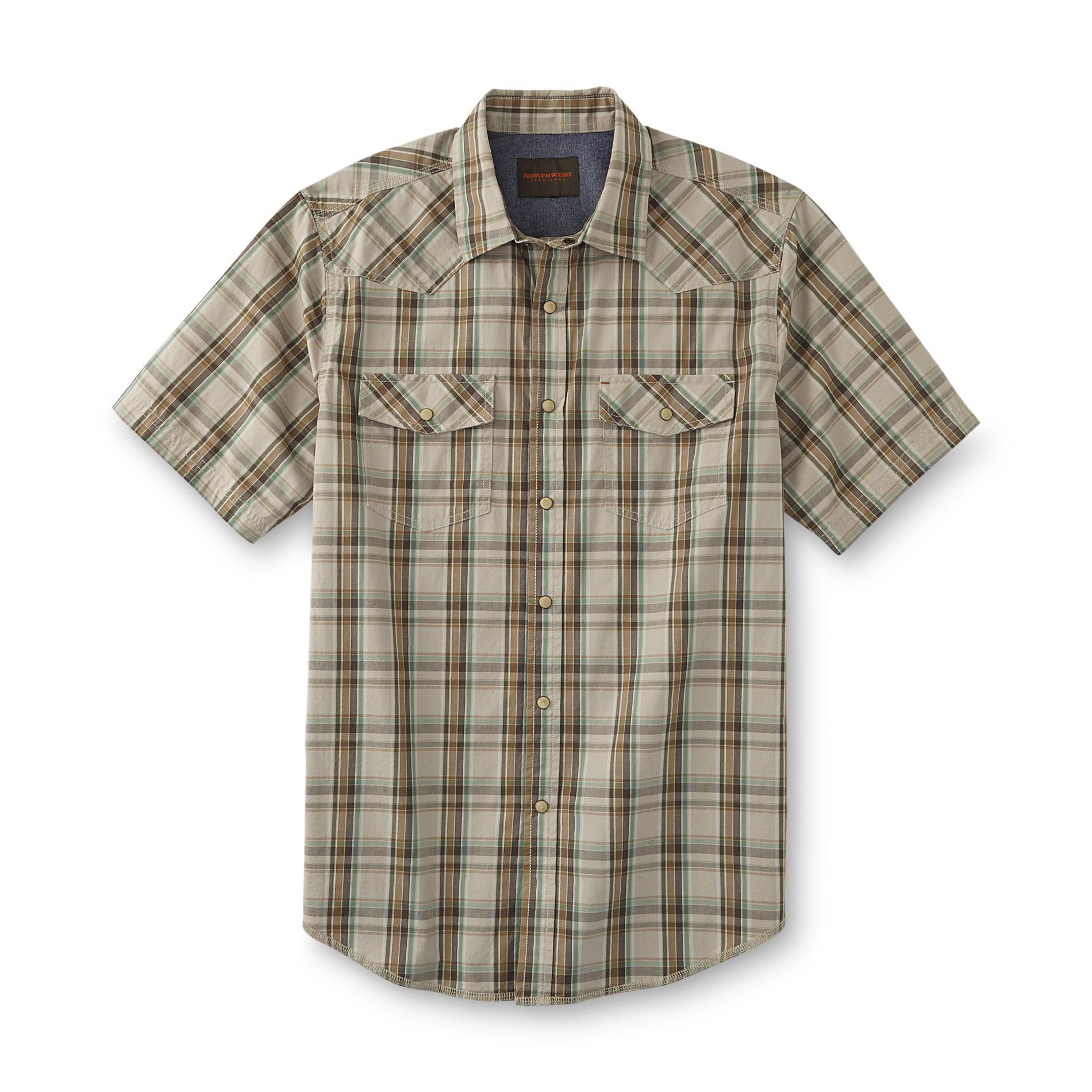 Northwest Territory Men's Big & Tall Western Shirt - Plaid