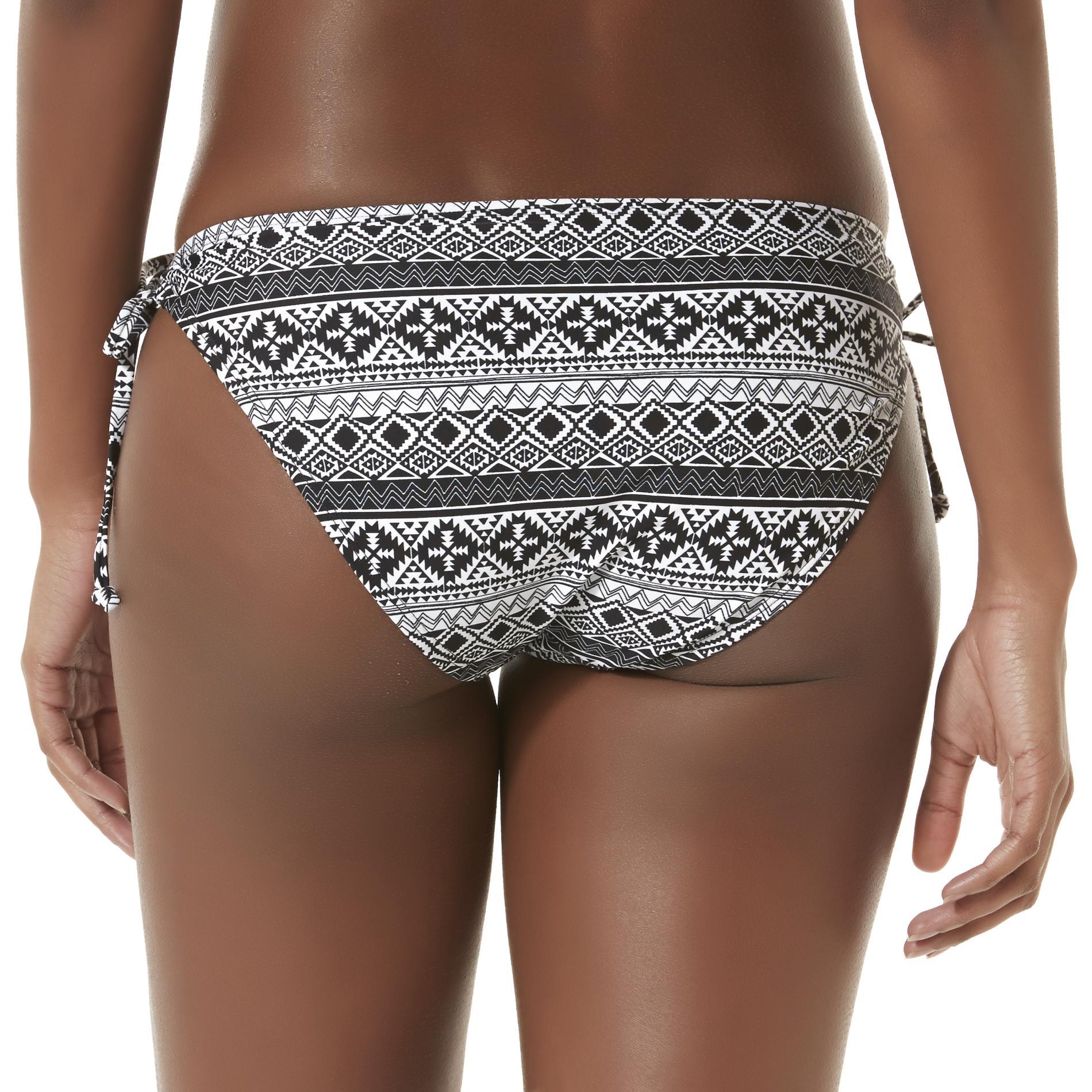 Bongo Junior's Loop Bikini Bottoms - Tribal