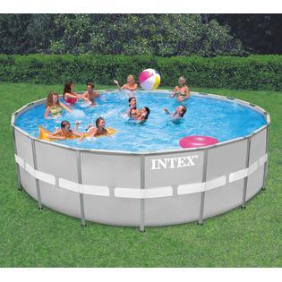 buy intex 20 x 48 ultra frame pool get