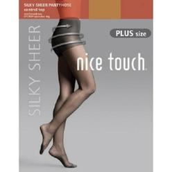 27357b6be54 Nice Touch Women s Silky Sheer Pantyhose - Control Top