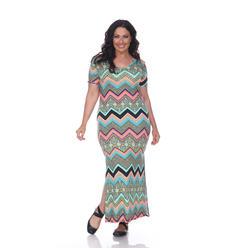 Plus Size White Flowing Maxi Dress