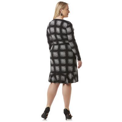 Covington Women's Wrap-Effect Dress - Square