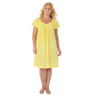 Yellow Women s Pajamas   Robes - Kmart 32063be18