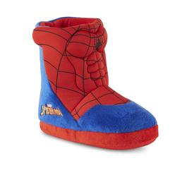 33cc829f0 Character Toddler Boys  Spider-Man Red Blue Slipper Boot