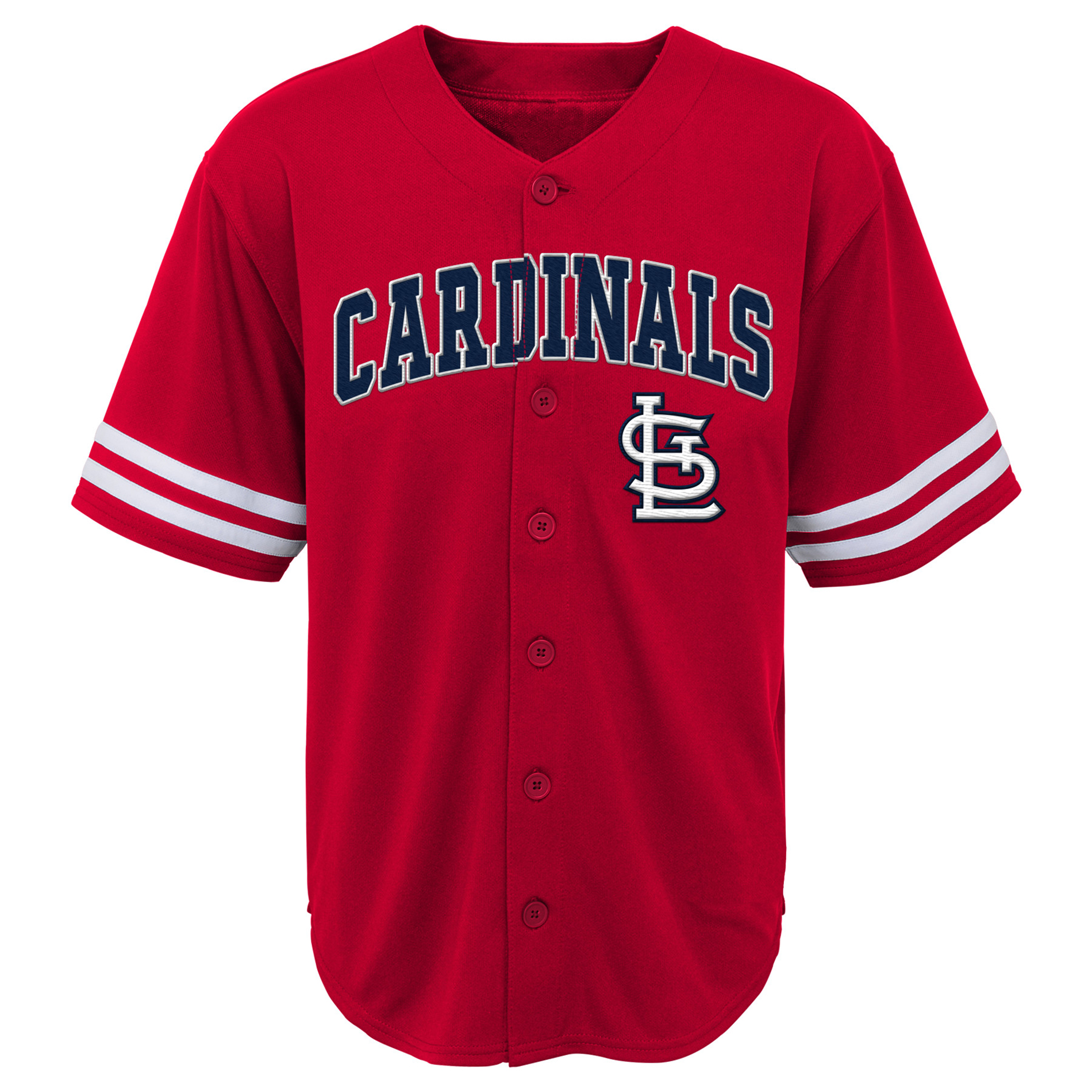 petite MLB Toddler Boys' Short-Sleeve Jersey - St. Louis Cardinals, Size: 2T im test
