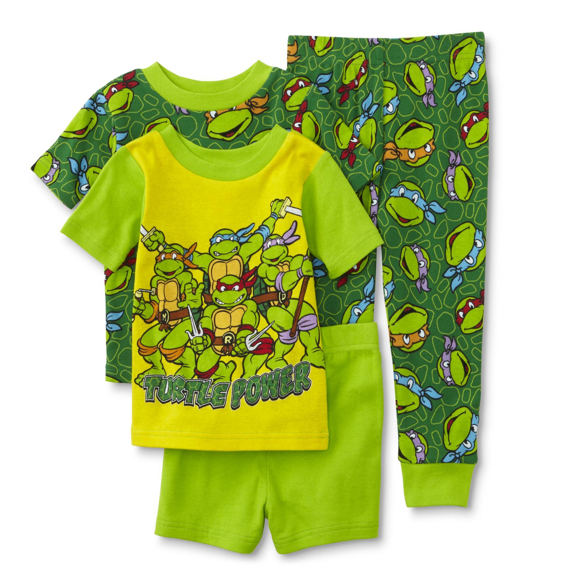 Nickelodeon Teenage Mutant Ninja Turtles Toddler Boy's 2-Pairs Pajamas