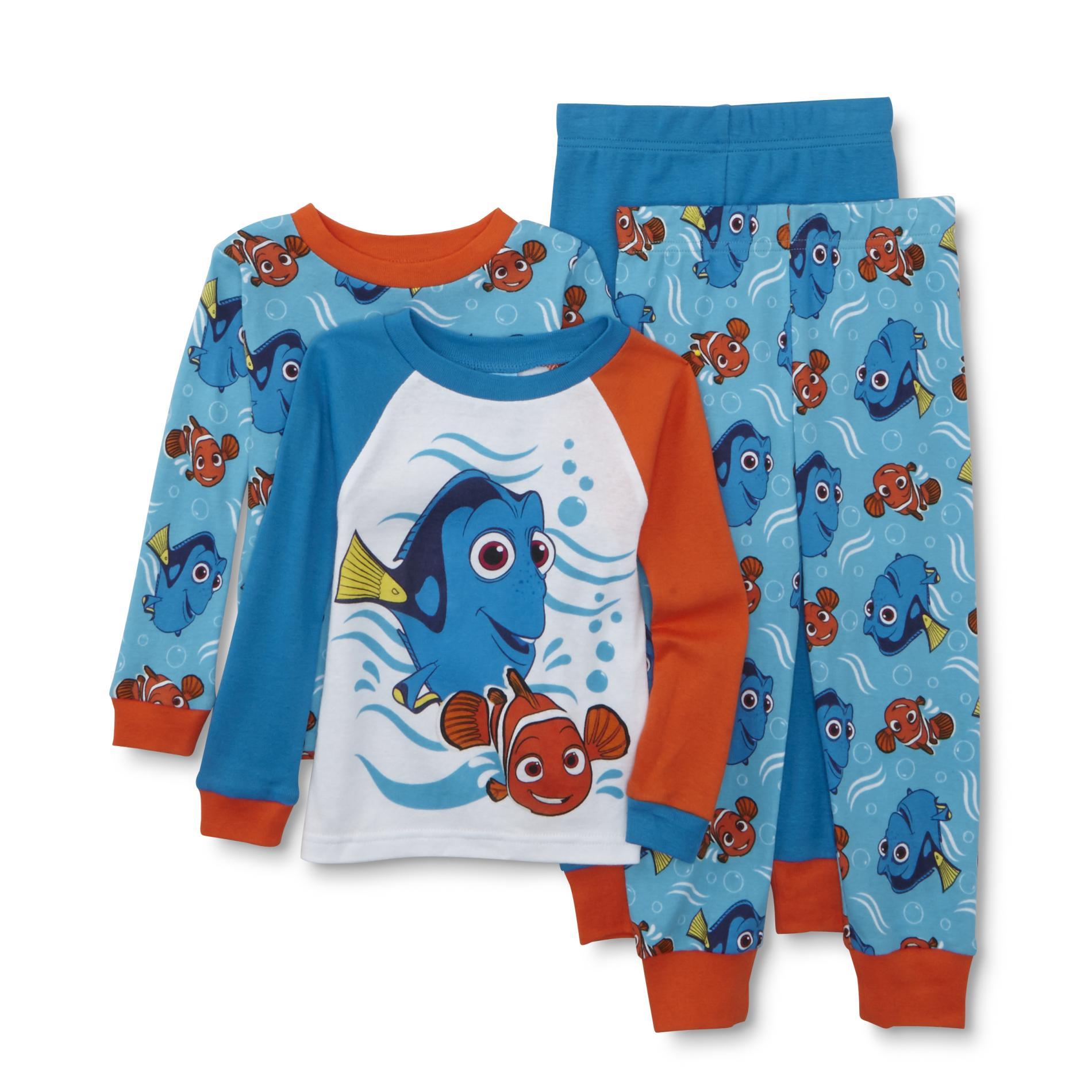 Disney Baby Finding Dory Toddler Boy's 2-Pairs Pajamas