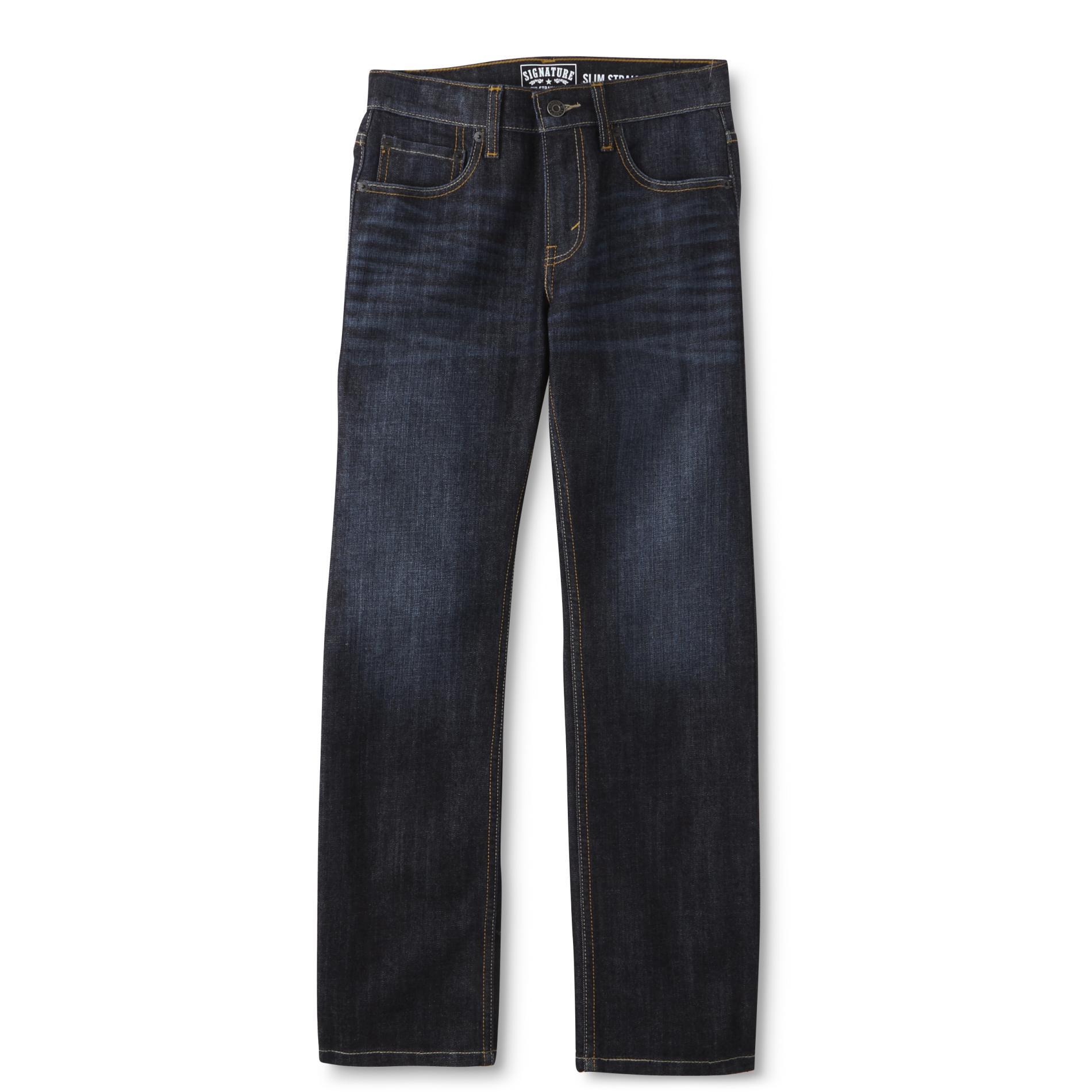 Boy's Slim Straight Jeans