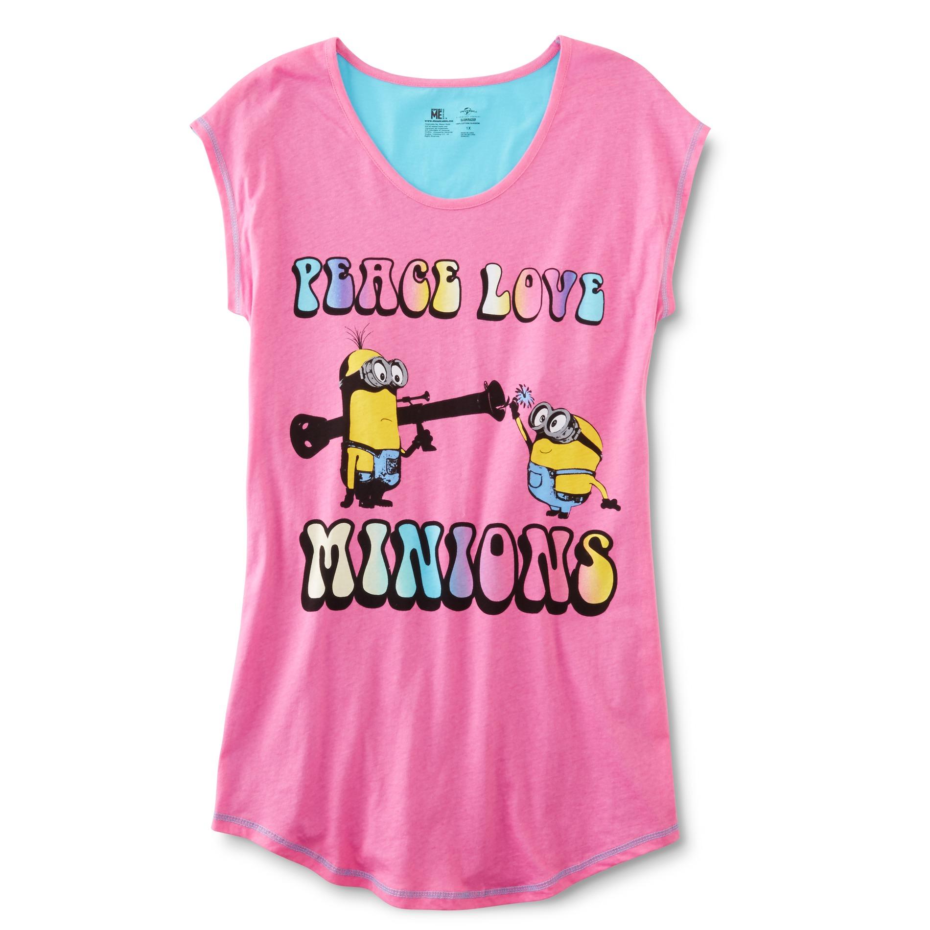 Despicable Me Women's Plus Sleep Shirt - Minions PartNumber: 027VA89633212P MfgPartNumber: DM166WDSKM