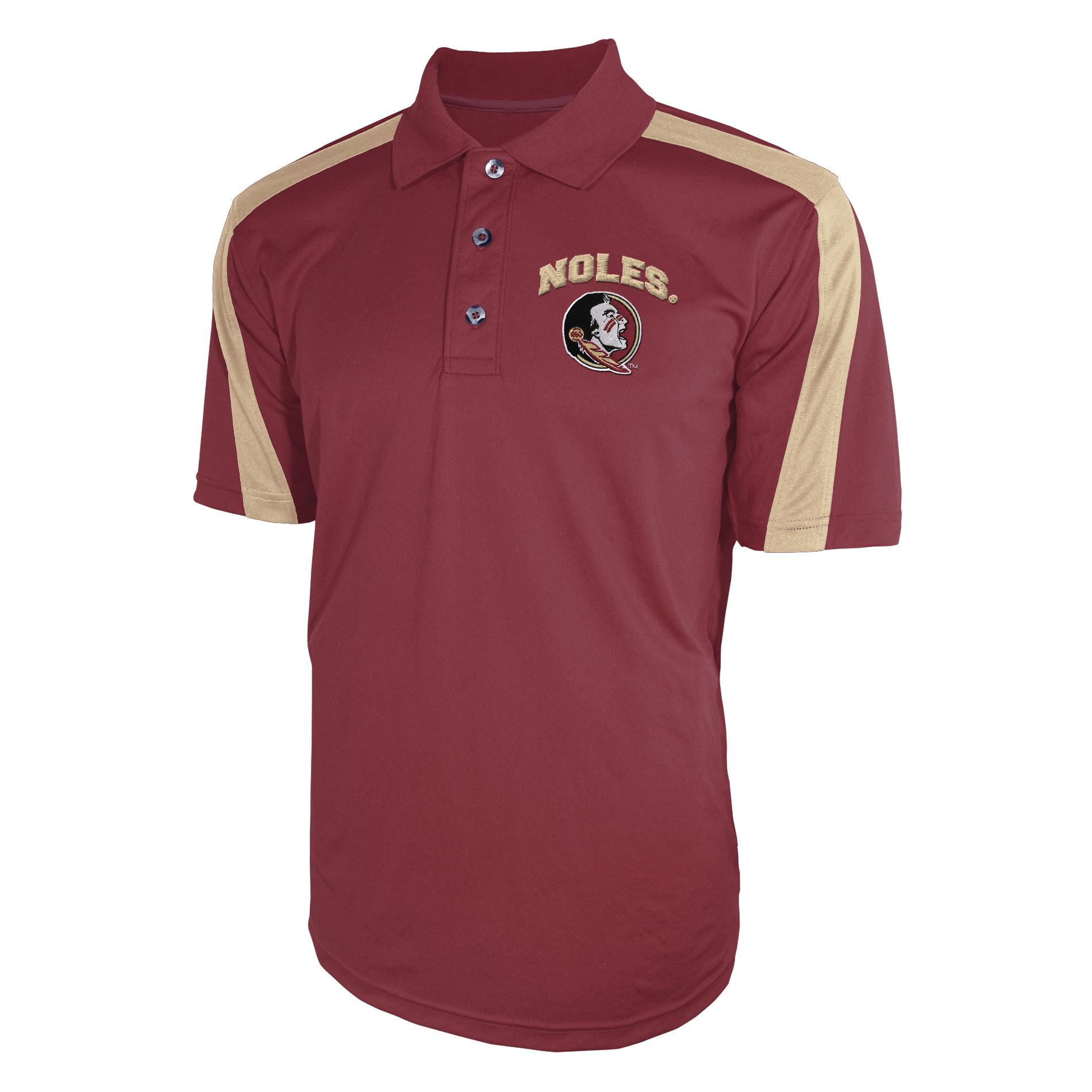 NCAA Men's Big & Tall Polo Shirt - Florida State University Seminoles PartNumber: 046VA90147112P MfgPartNumber: 7AXEE33KMFFDTC