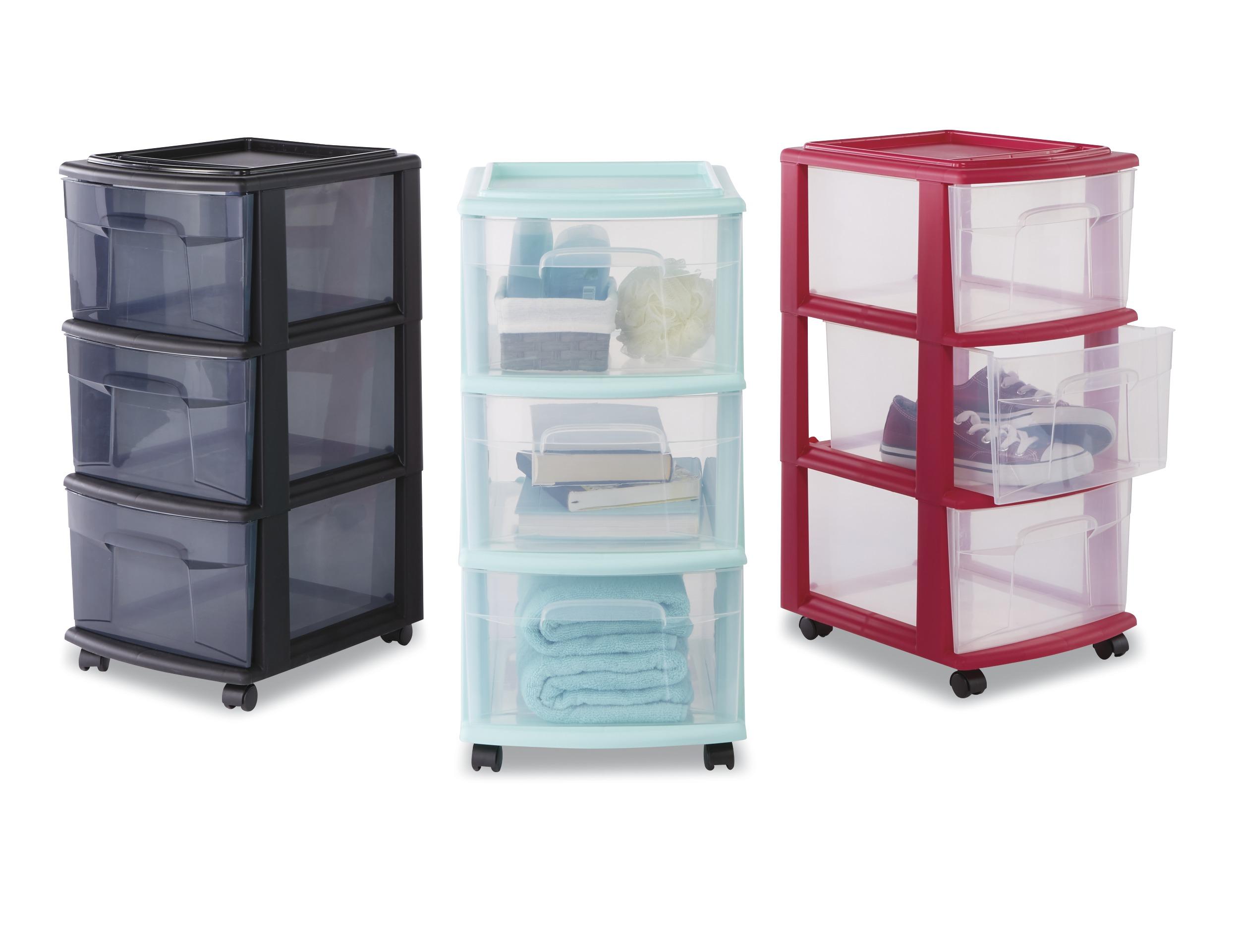 sc 1 st  Kmart & Essential Home 3 Drawer Storage Cart