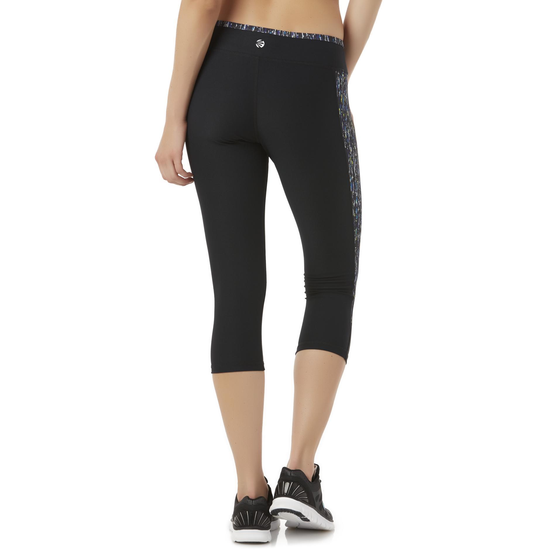 Impact by Jillian Michaels Women's Athletic Capri Leggings - Abstract