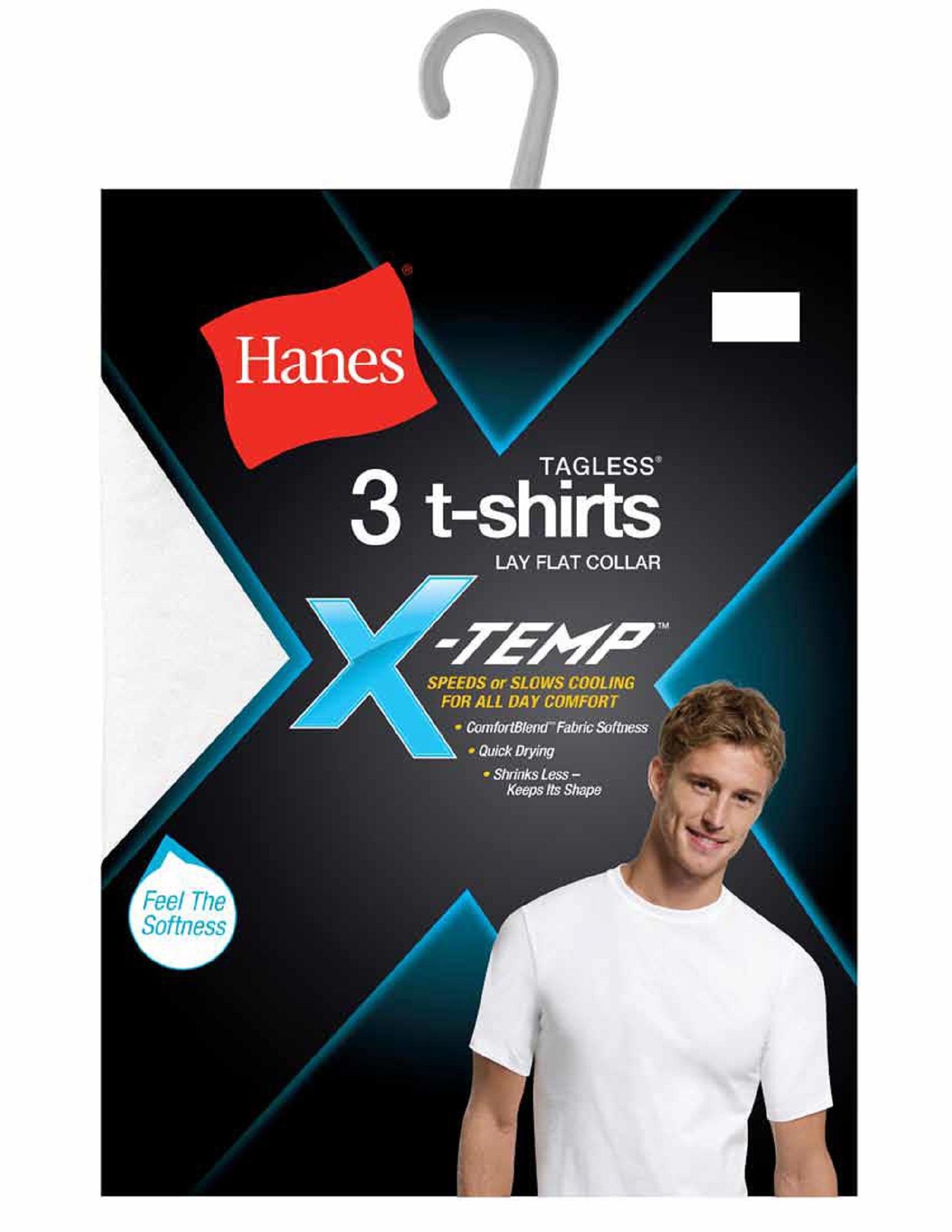 30238dfd Hanes Men's 4-Pack X-Temp T-Shirts | Shop Your Way: Online Shopping ...