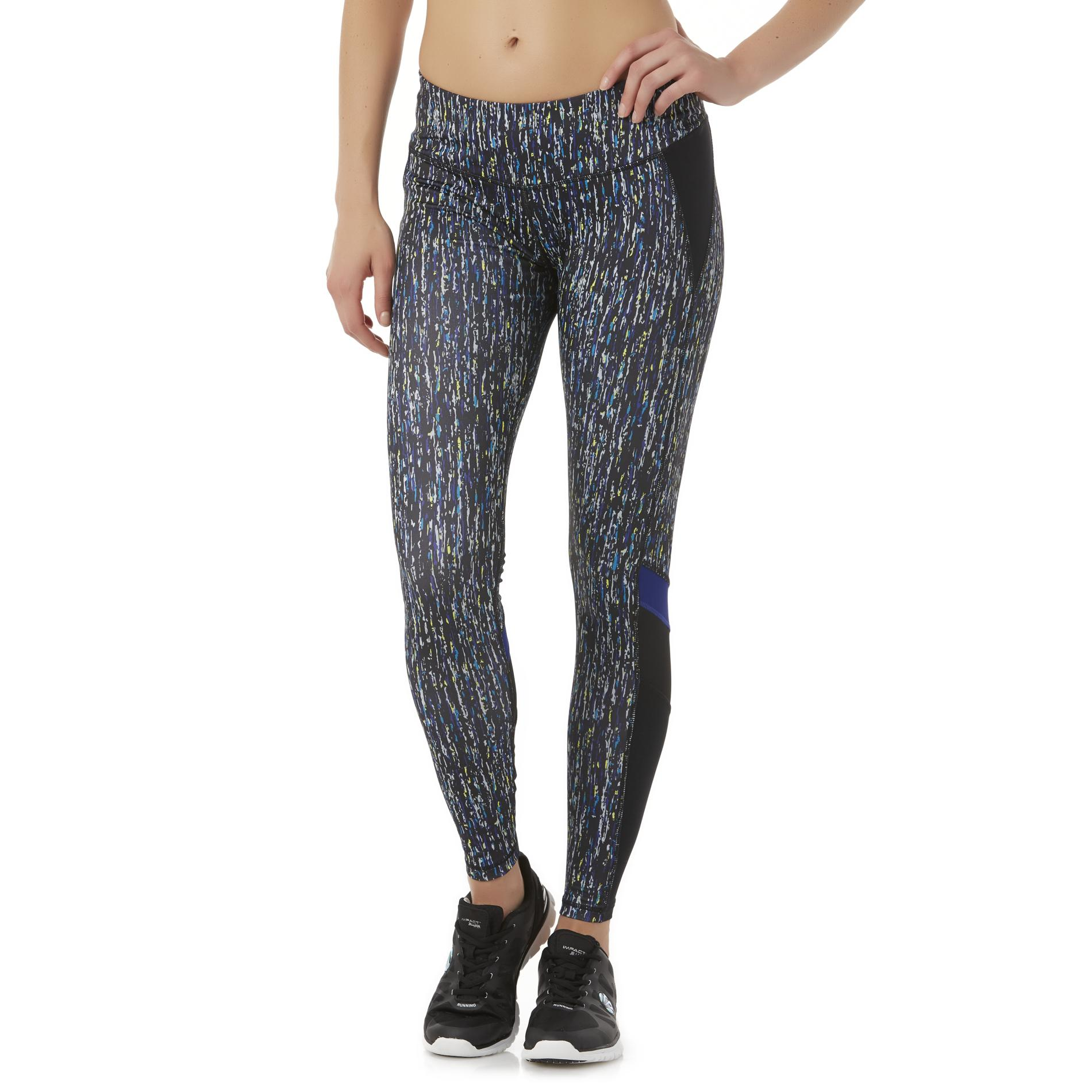 Impact by Jillian Michaels Women's Sprint Athletic Leggings - Abstract