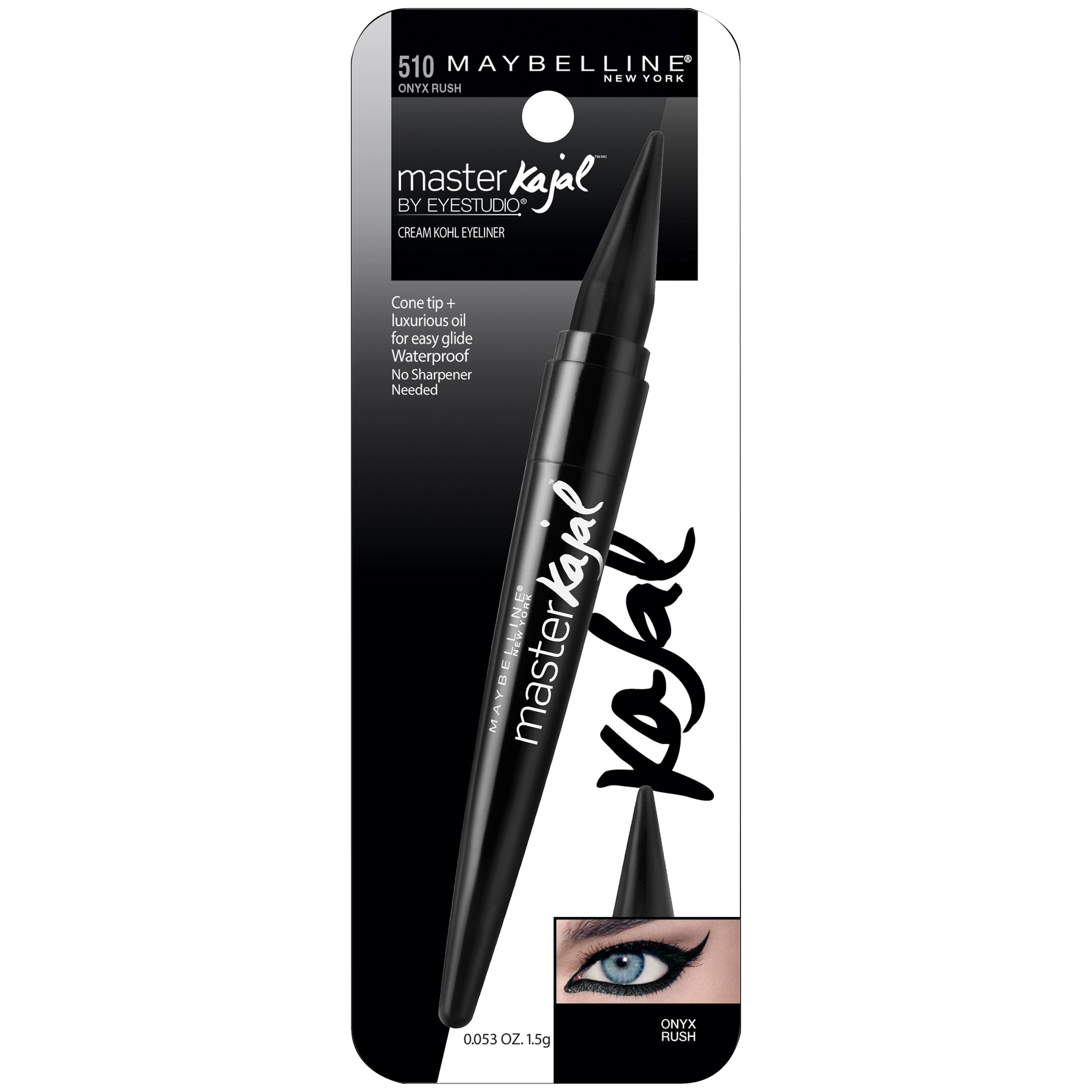 Maybelline New York Eye Studio Master Kajal Eyeliner, Size: 0.053 oz., Black Rush im test