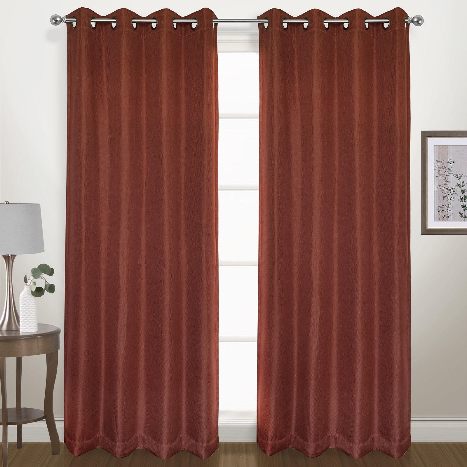 United Curtain Company Energy Saving Herringbone 54