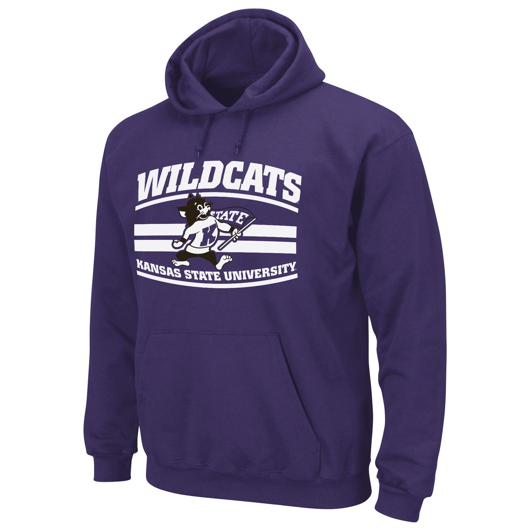 NCAA Men's Hooded Sweatshirt - Kansas State University Wildcats