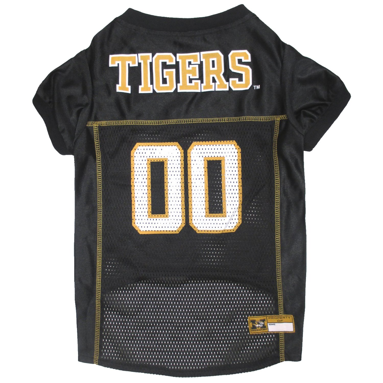 Pets First Co. Missouri Tigers Pet Jersey PartNumber: 3ZZVA91733912P MfgPartNumber: MIZ-4006-LG