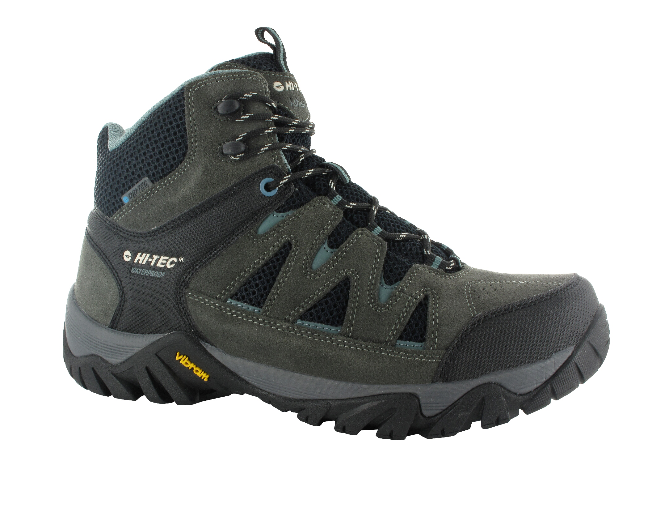 Hi-Tec Men's Sonorous Mid II I-Shield Waterproof Gull Grey/Black/Goblin Hiking Boot PartNumber: 3ZZVA90911712P MfgPartNumber: 54209