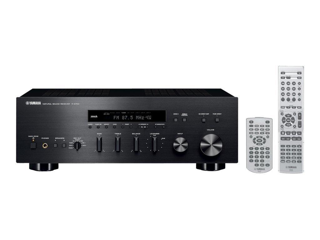 rs700bl yamaha r s700bl natural sound stereo receiver black. Black Bedroom Furniture Sets. Home Design Ideas