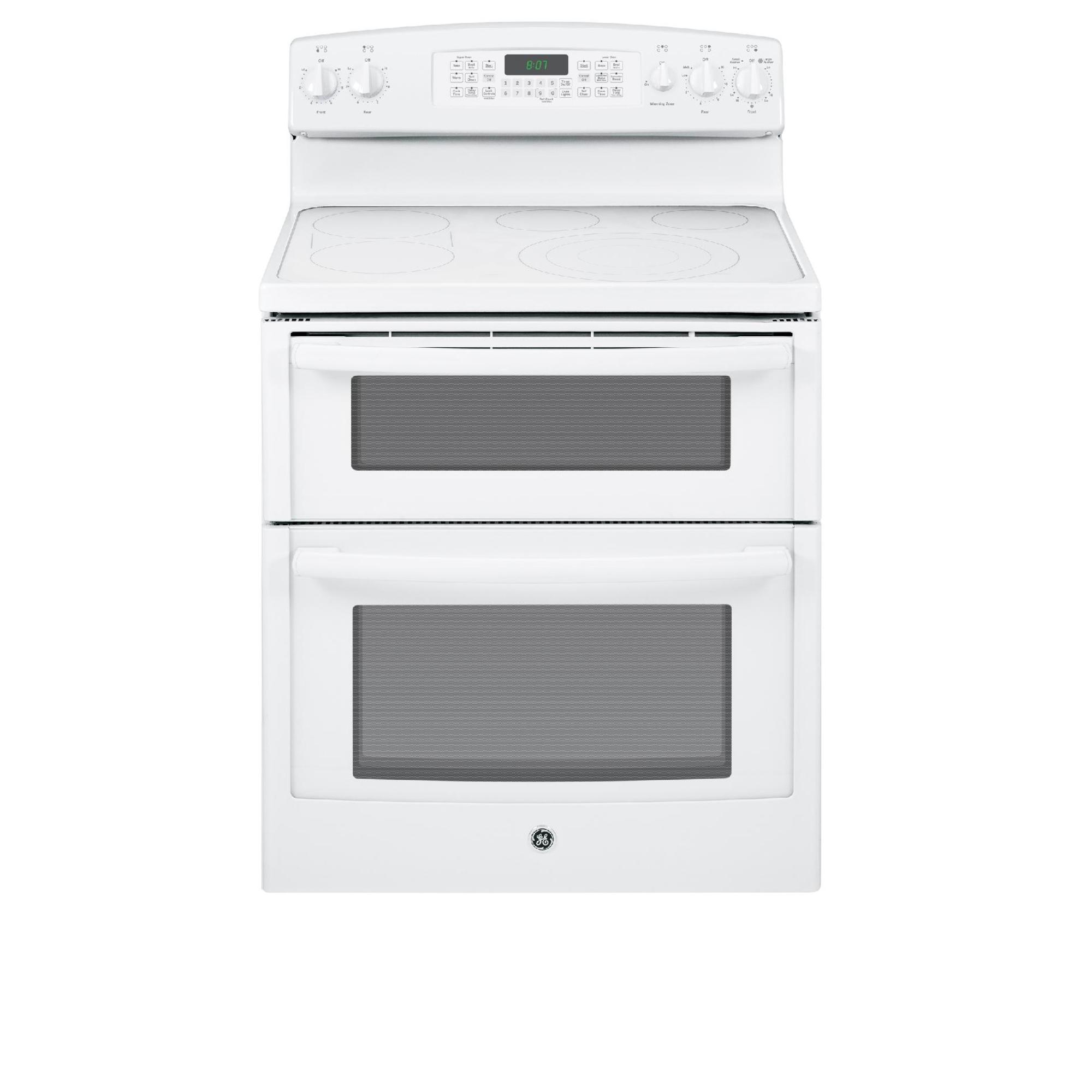 GE Appliances 6.6 cu. ft. Electric Range w/ Convection Oven - White