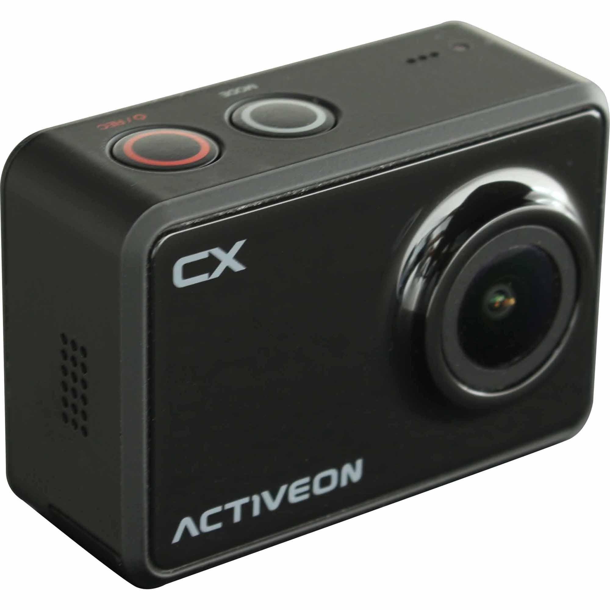 ACTIVEON 5-Megapixel Action Cam CX w/ Built-In WiFi - Black PartNumber: 00352341000P KsnValue: 00352341000 MfgPartNumber: CCA10W
