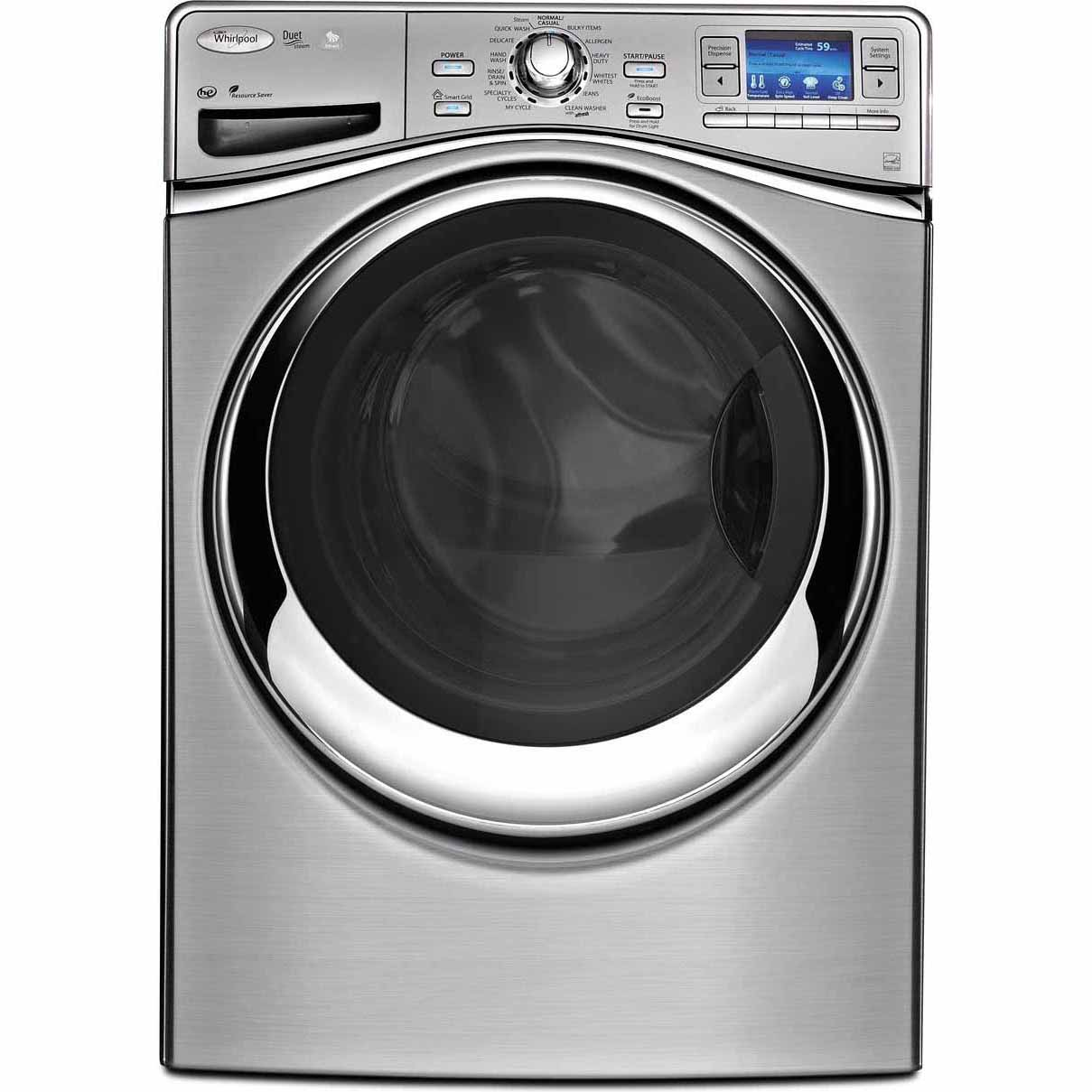 Whirlpool 4.3 cu. ft. Smart Front-Load Washer w/ 6th Sense Live™ Technology - Silver