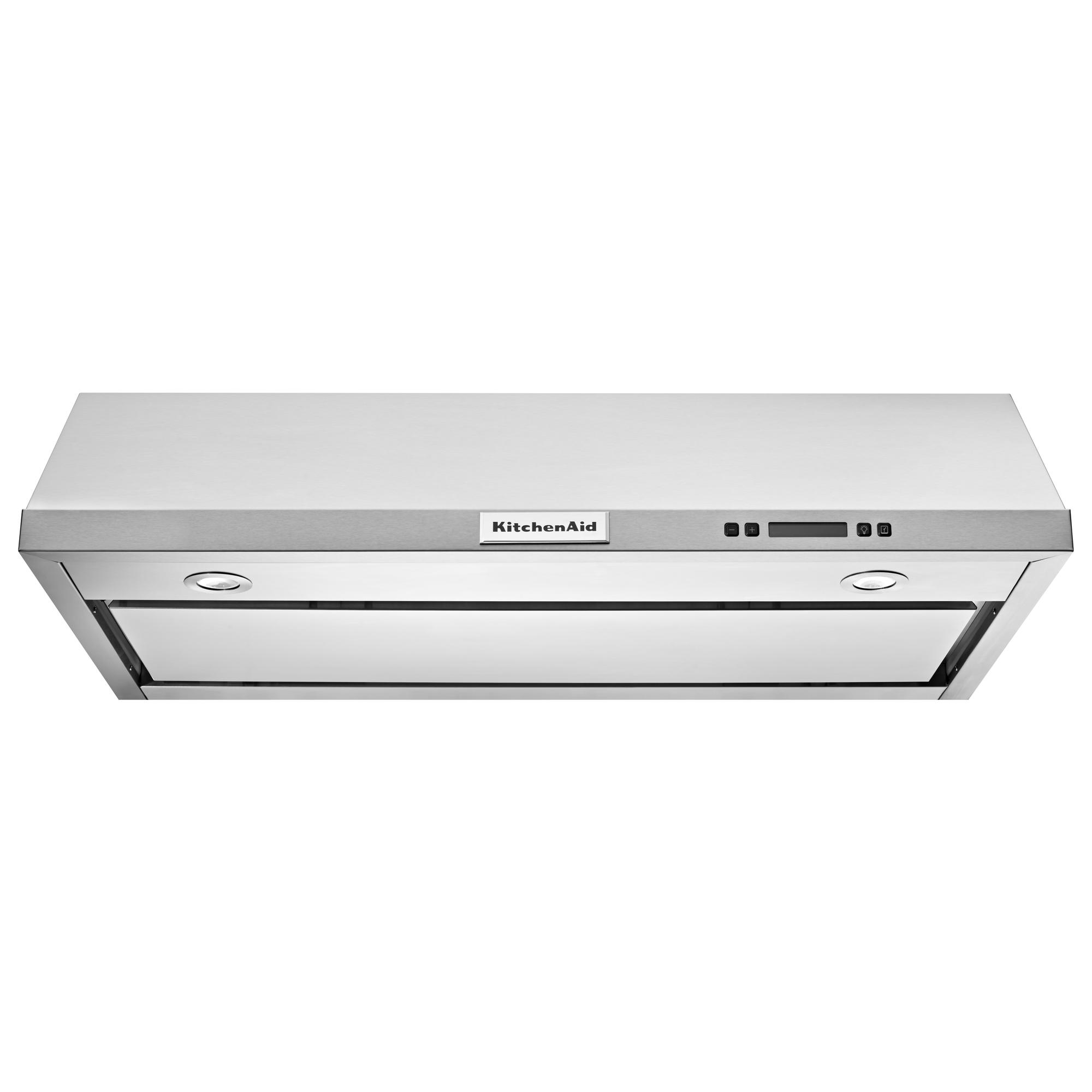 KitchenAid KVUB600DSS 30-Inch Under Cabinet Vent Hood w/ 4 Speeds - Stainless Steel