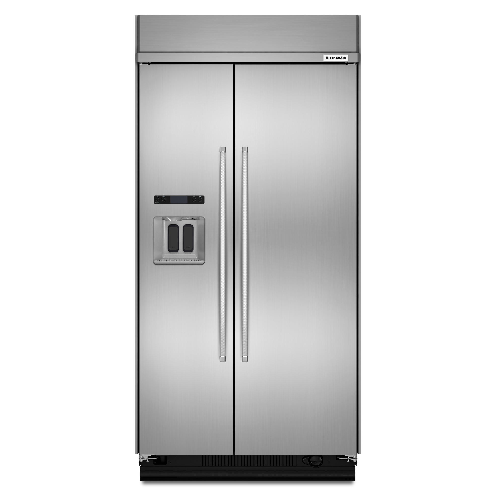 KitchenAid KBSD608ESS 29.5 cu. ft. Built-In Refrigerator - Stainless Steel