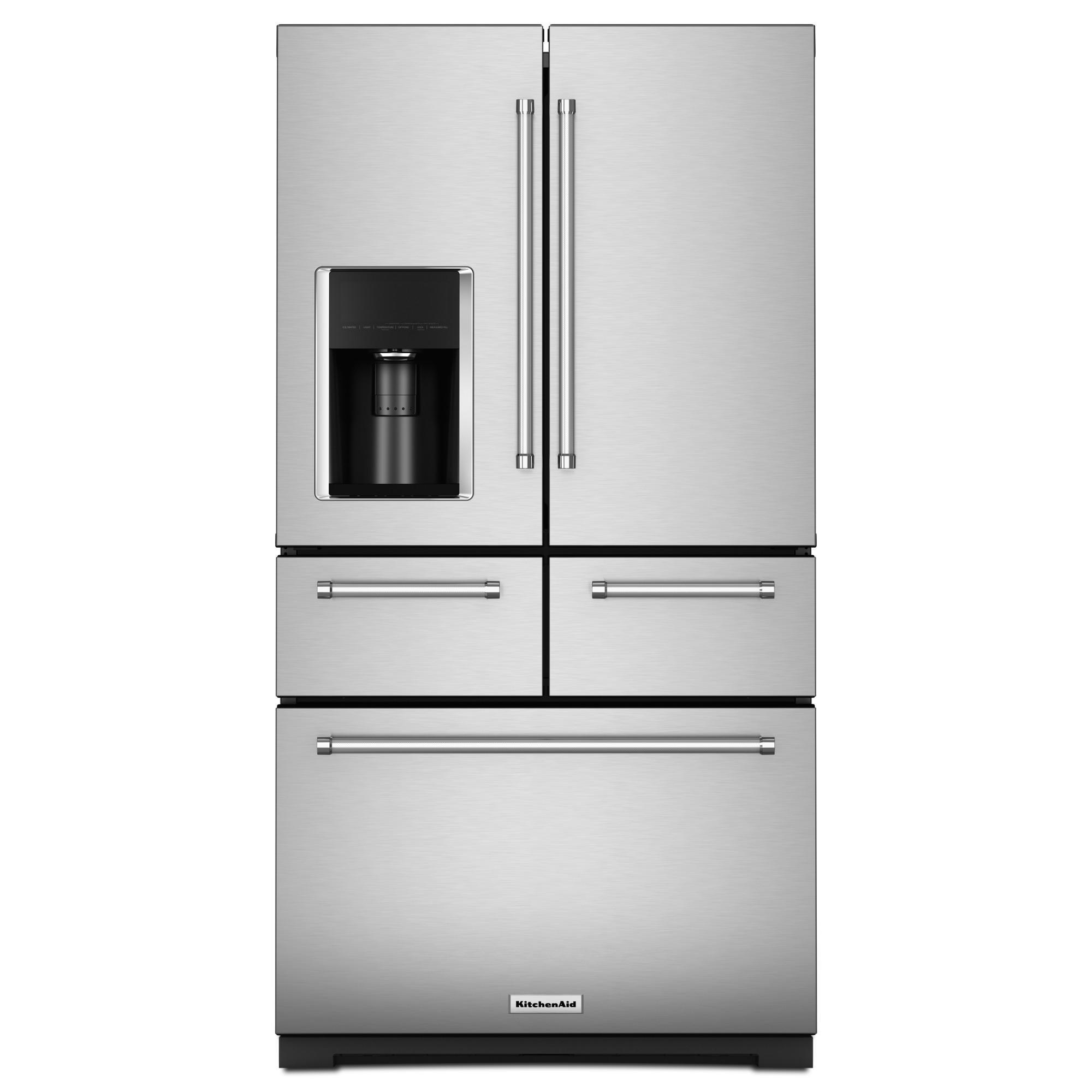 KitchenAid KRMF706ESS 25.8 cu. ft. Multi-Door Refrigerator-Stainless Steel