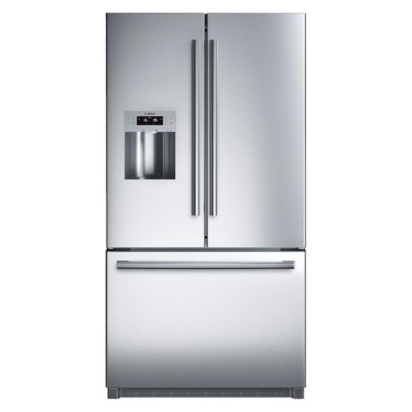 bosch french door refrigerator 25 9 cu ft b26ft70sns sears. Black Bedroom Furniture Sets. Home Design Ideas