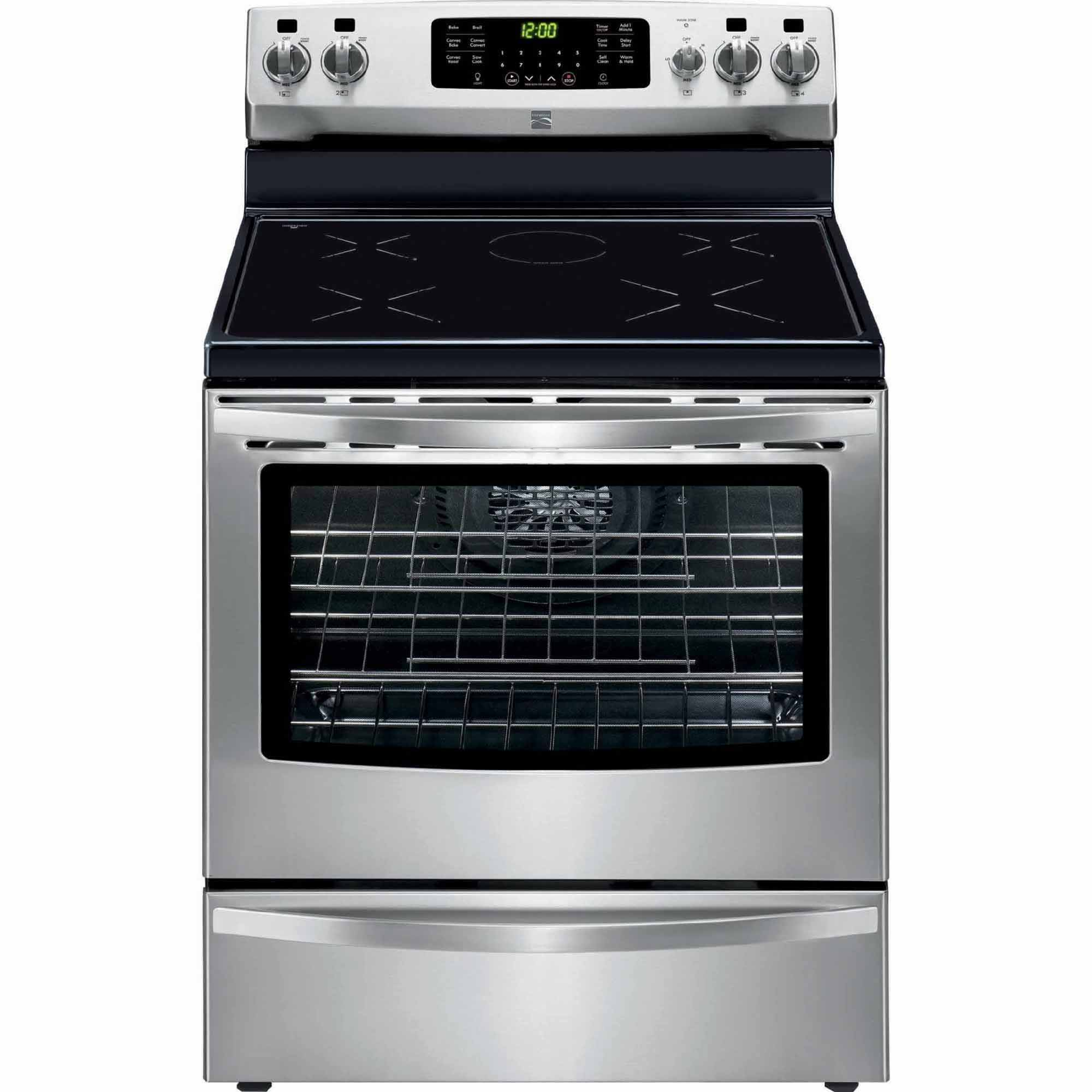 Kenmore 5.4 cu. ft. Freestanding Induction Range w/ True Convection - Stainless Steel