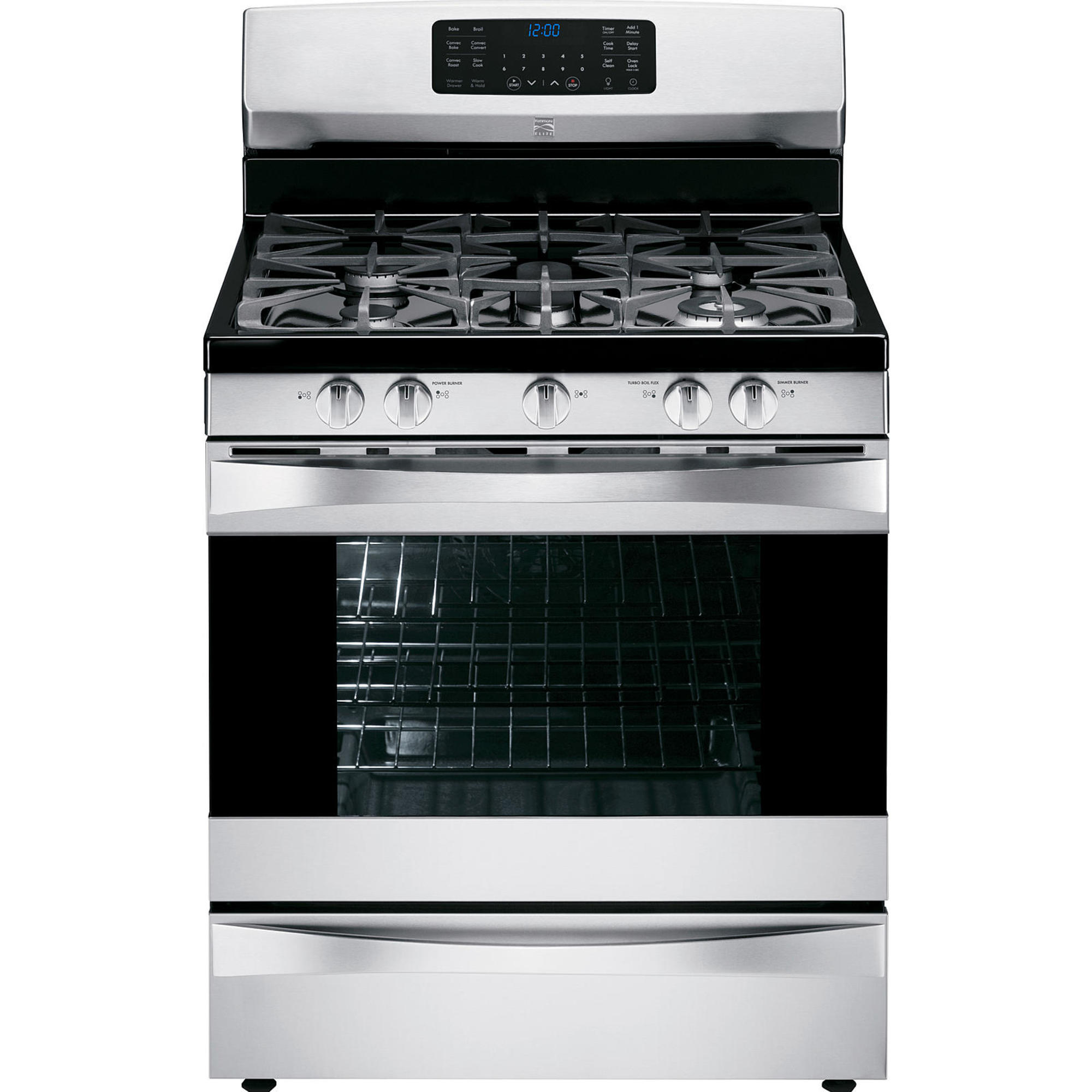 Kenmore Elite 75233  5.6 cu. ft. Gas Range w/ True Convection - Stainless Steel