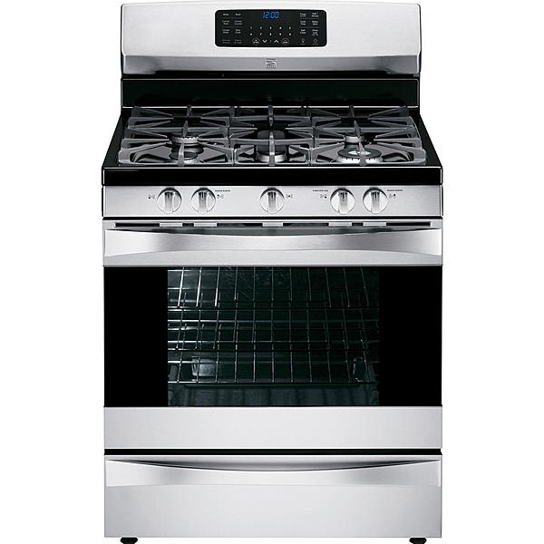 022075233000 Kenmore Elite 75233 5.6 cu. ft. Gas Range w/ True Conv