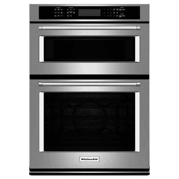 "KitchenAid KOCE507ESS  27"" Double Wall Oven w/Even-Heat  True Convection - Stainless Steel"