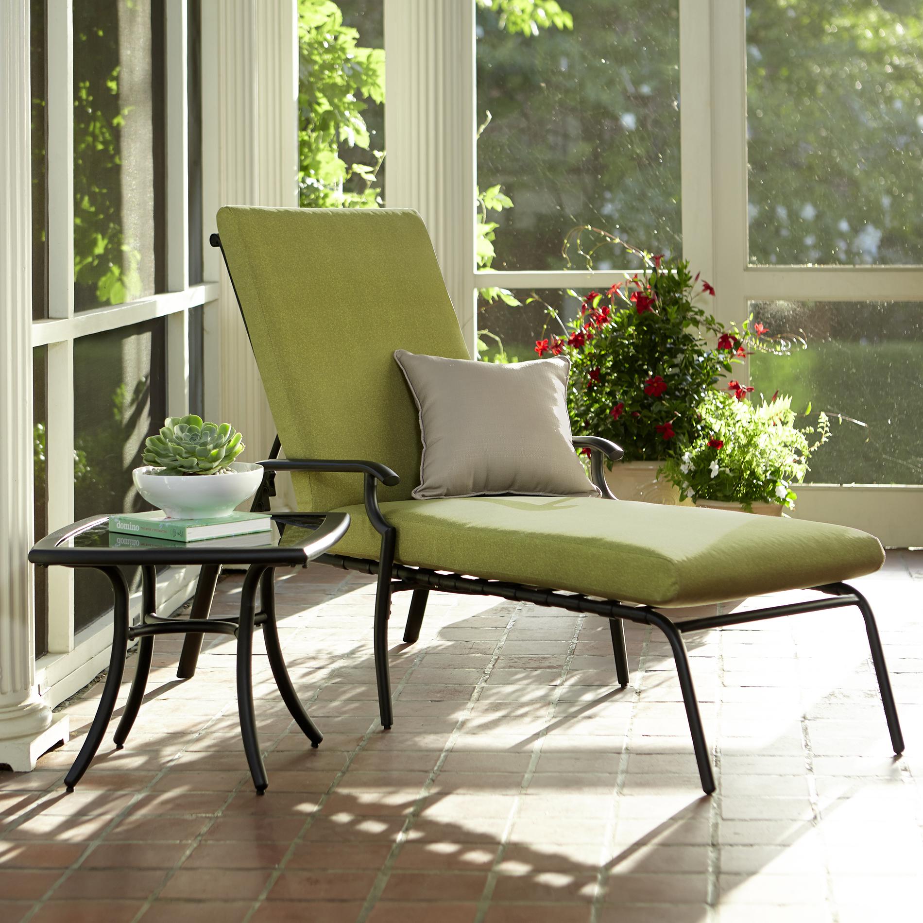 Garden Oasis Rockford Chaise Lounge Outdoor Living Patio